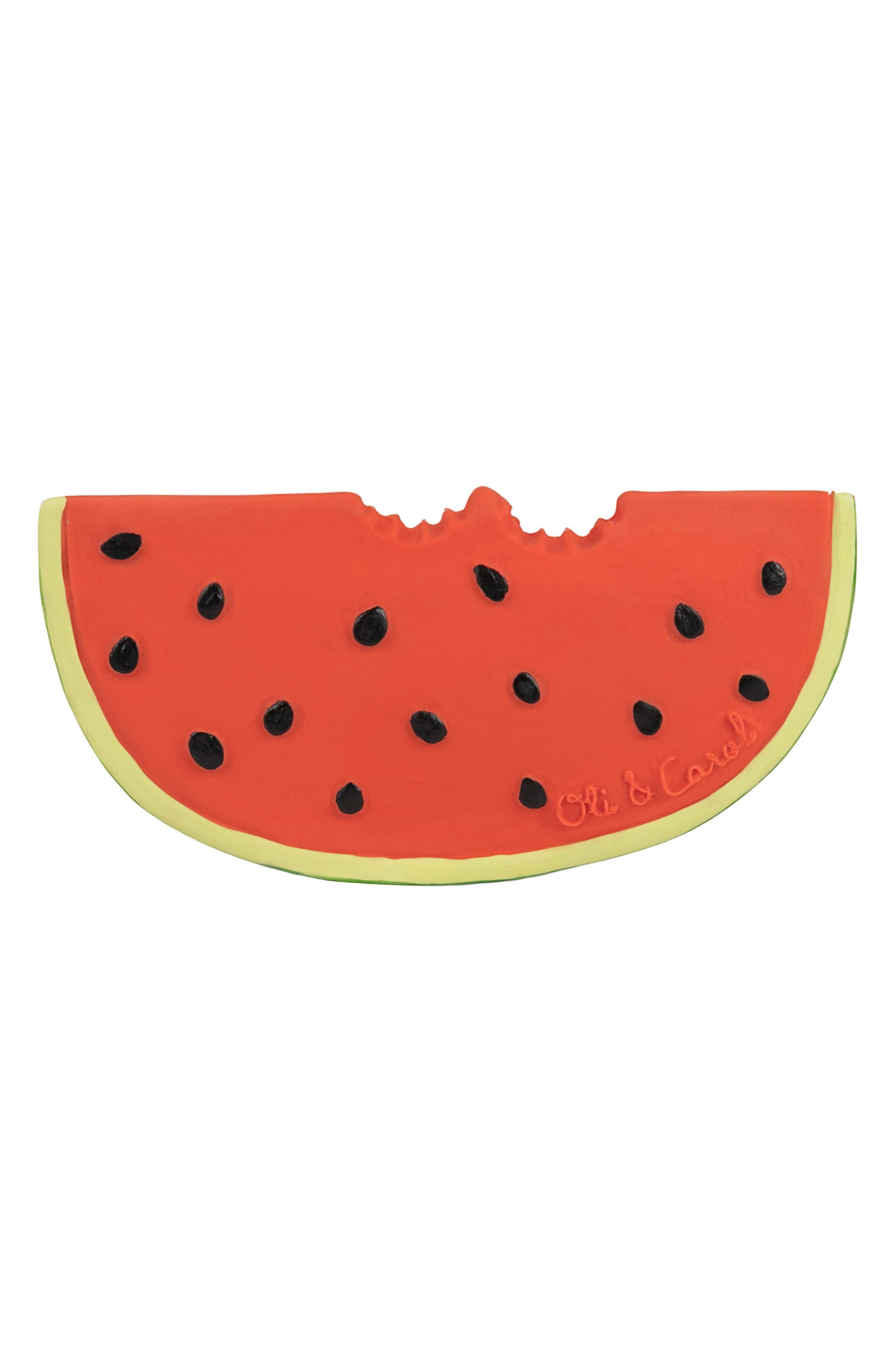OLI & CAROL, Oli and Carol Wally the Watermelon Teething Toy, Alternate thumbnail 2, color, 600