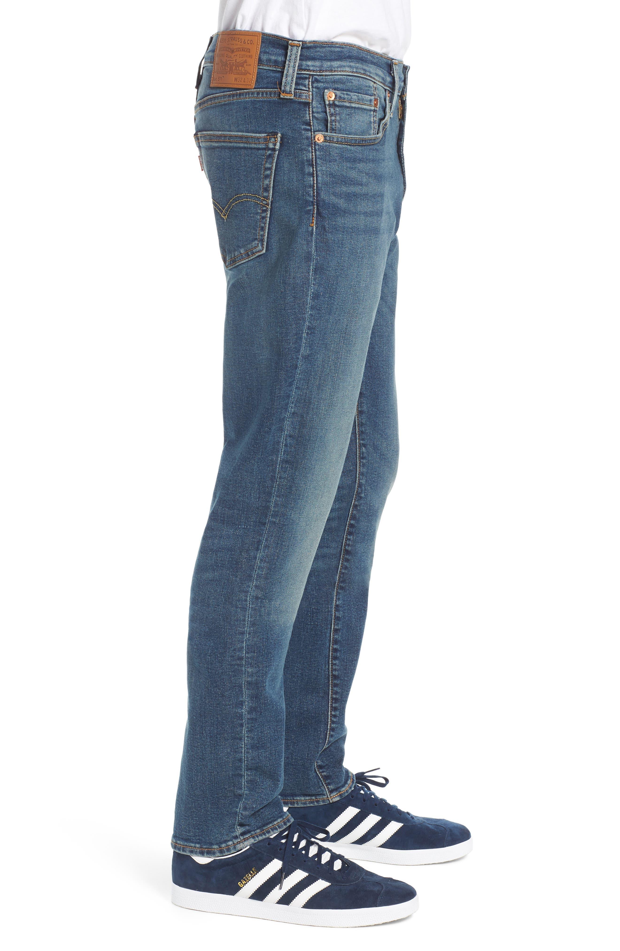 LEVI'S<SUP>®</SUP>, 511<sup>™</sup> Slim Fit Jeans, Alternate thumbnail 4, color, 422