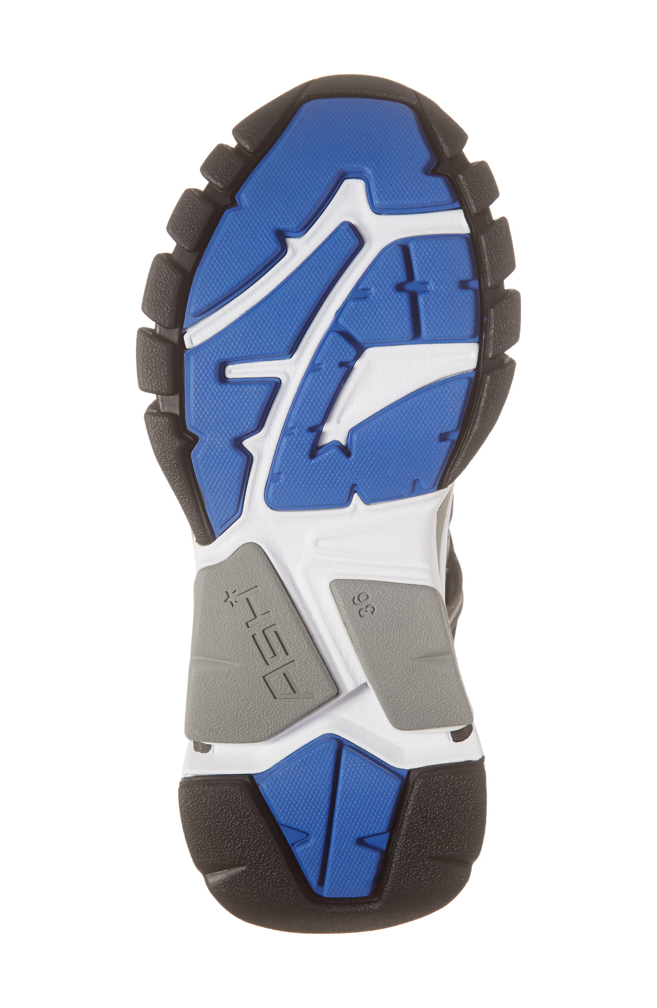 ASH, Flash Sneaker, Alternate thumbnail 6, color, GREY/ STROBE RAINBOW