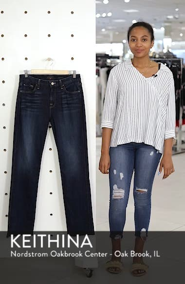 Stretch Slim Straight Leg Jeans, sales video thumbnail