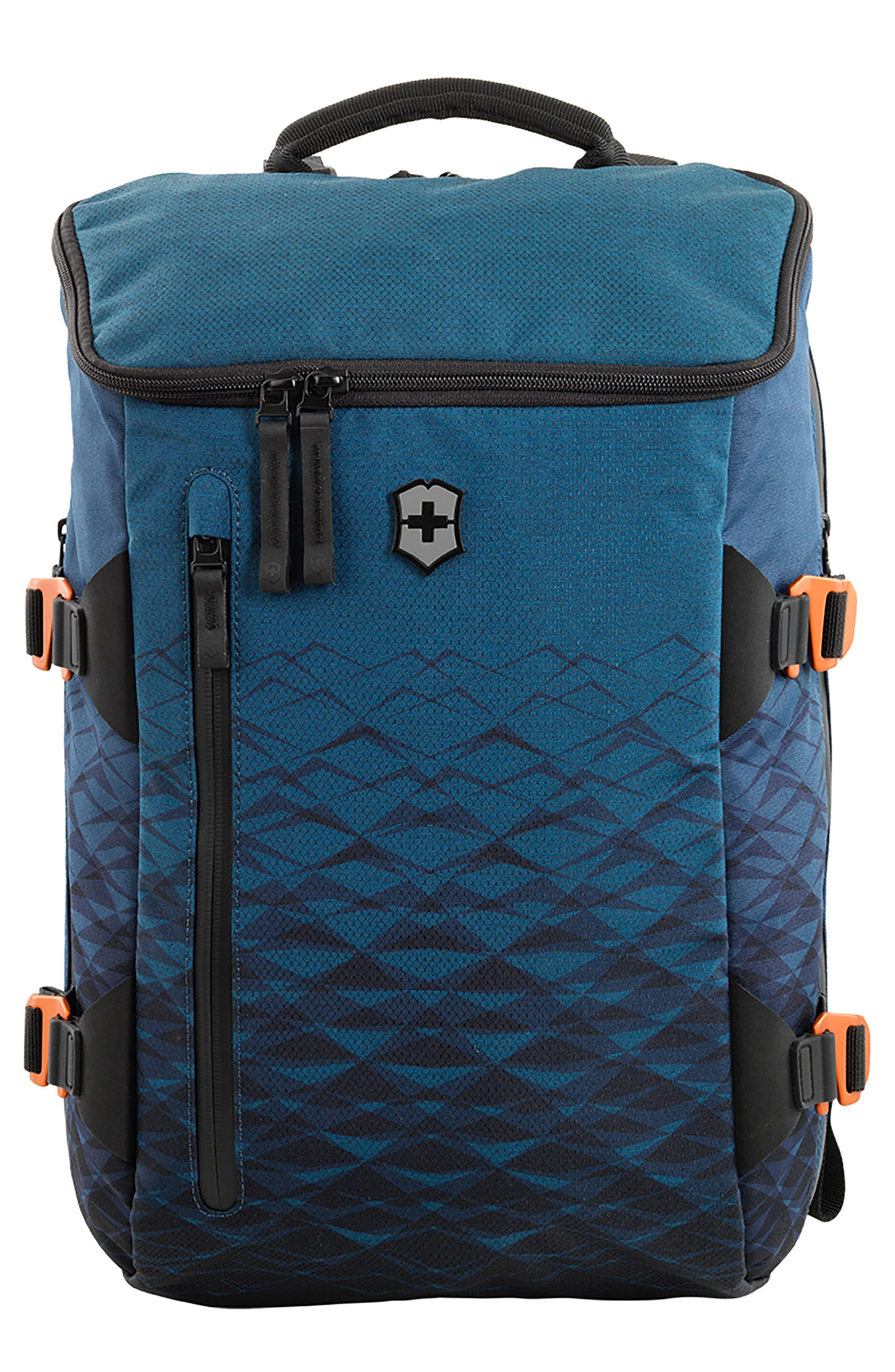 VICTORINOX SWISS ARMY<SUP>®</SUP> VX Touring Laptop Backpack, Main, color, DARK TEAL