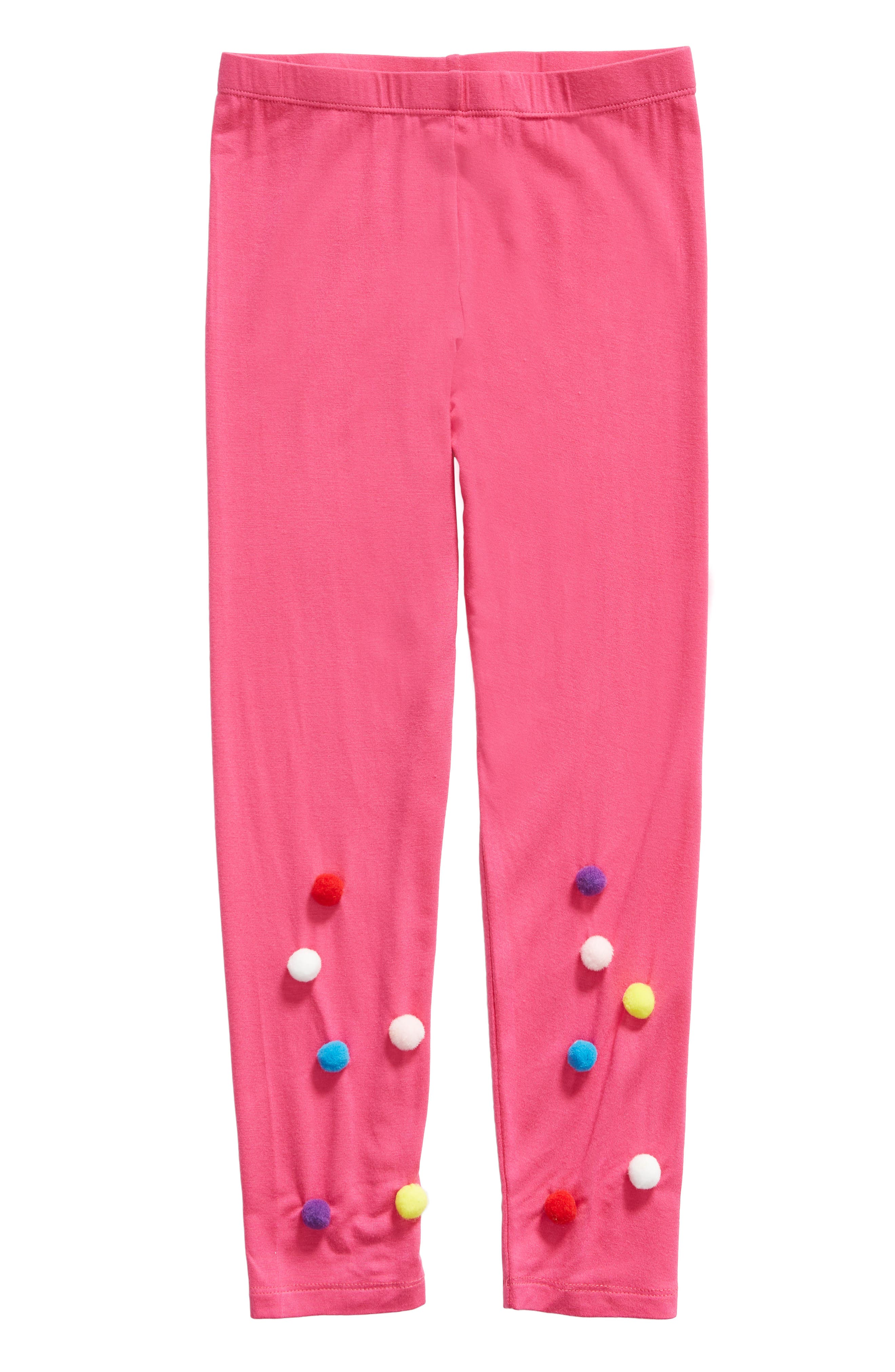Toddler Girls Truly Me Pom Leggings Size 3T  Pink