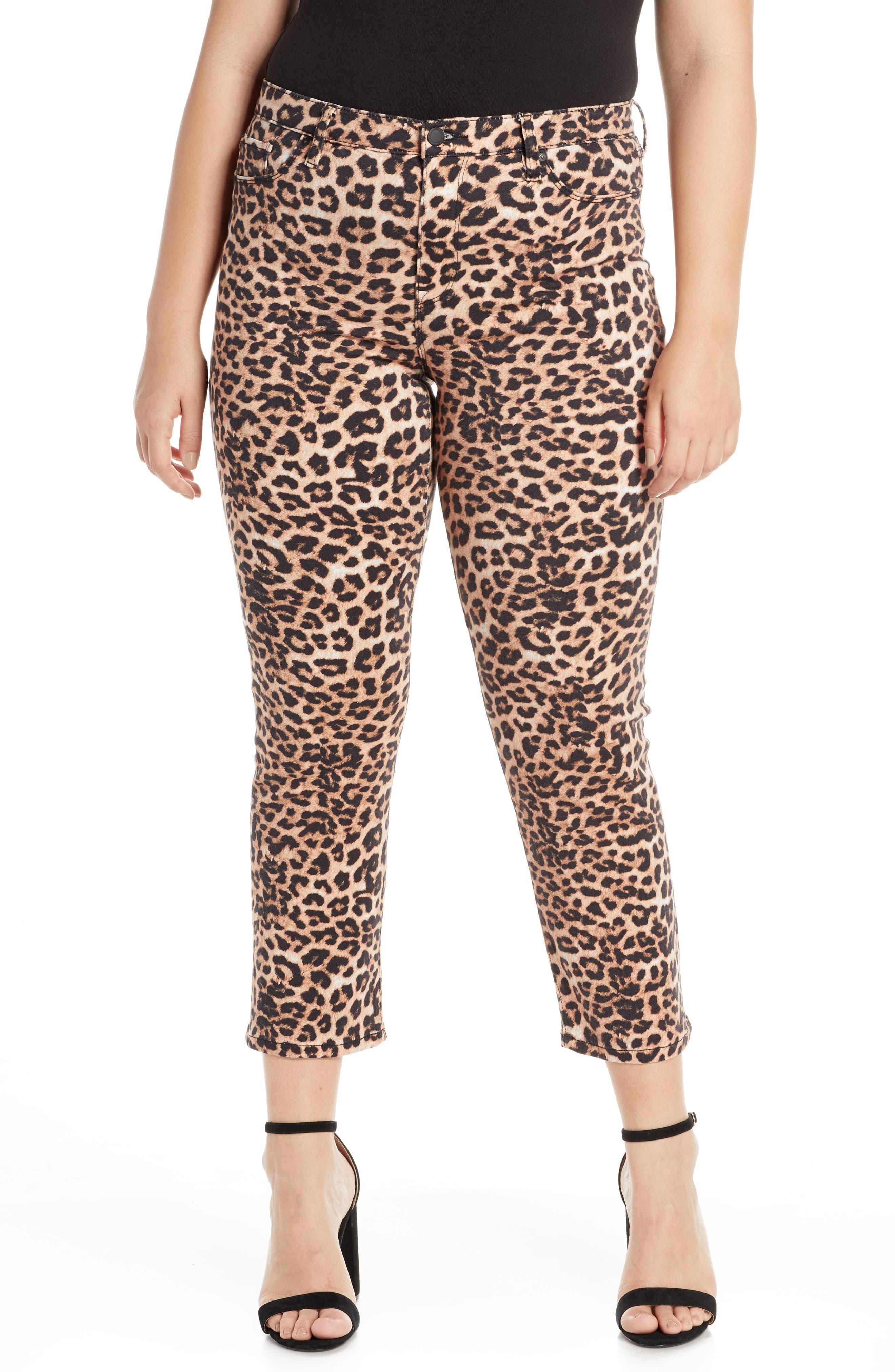 HUDSON JEANS, Hudson Ankle Straight Leg Jeans, Alternate thumbnail 2, color, CLASSIC LEOPARD