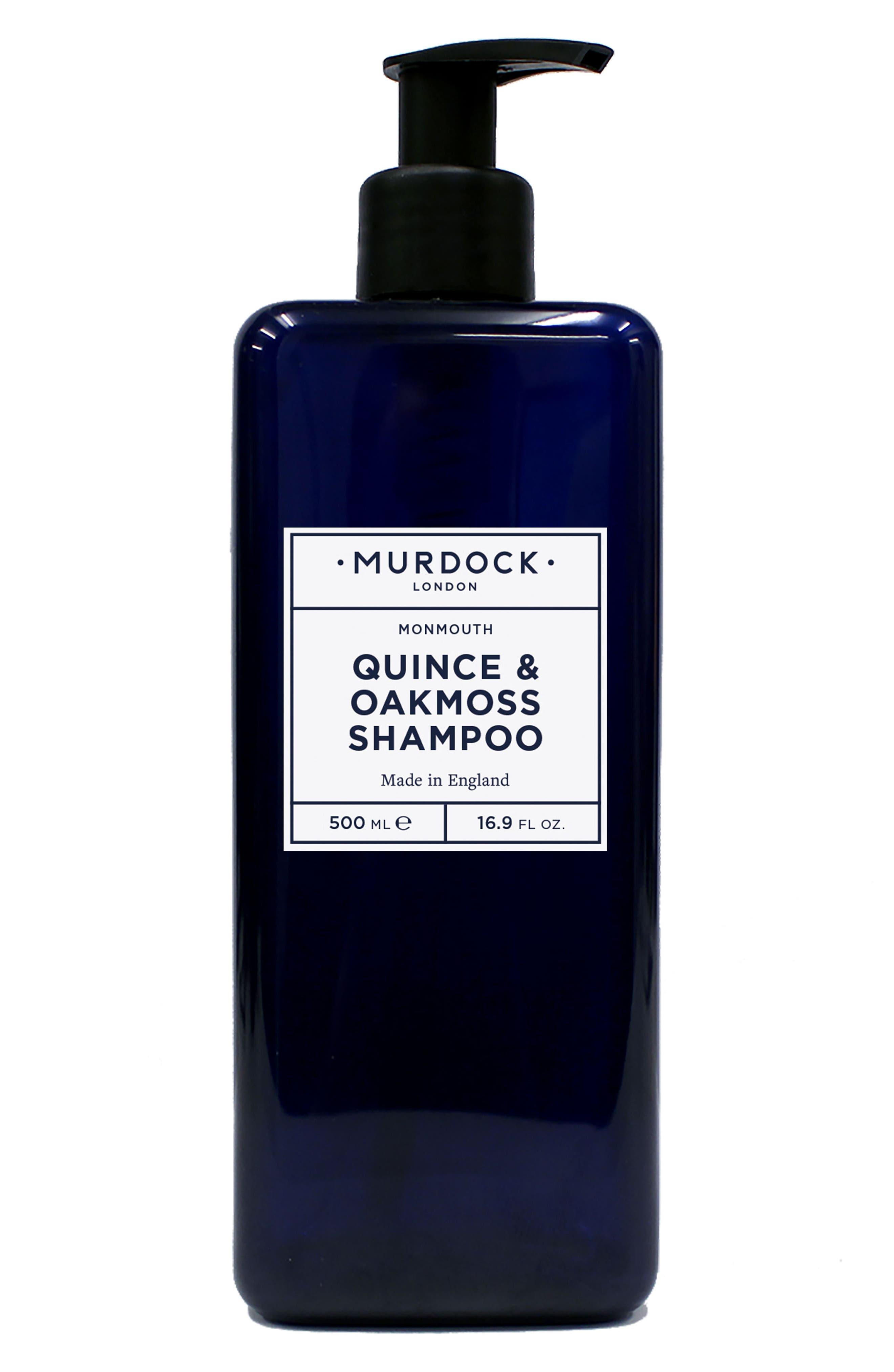 MURDOCK LONDON, Jumbo Quince & Oakmoss Shampoo, Main thumbnail 1, color, NO COLOR