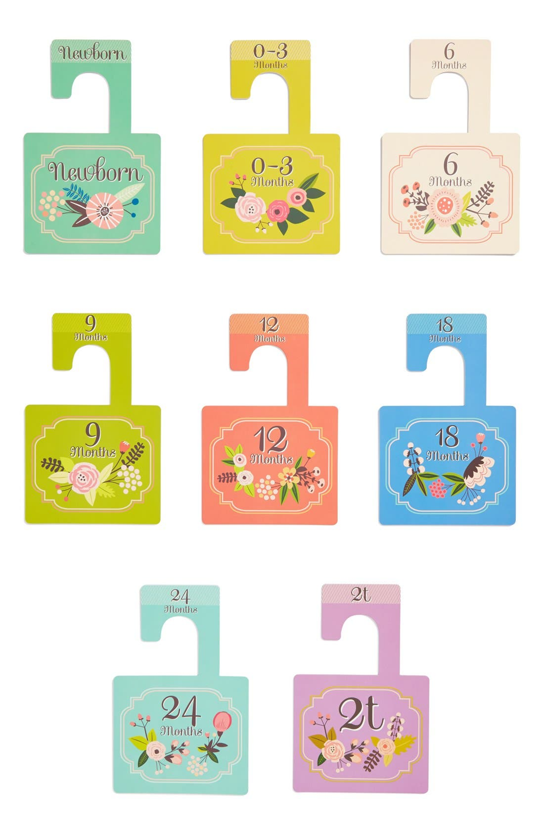 LUCY DARLING, 'Little Artist' Closet Dividers, Alternate thumbnail 2, color, 300