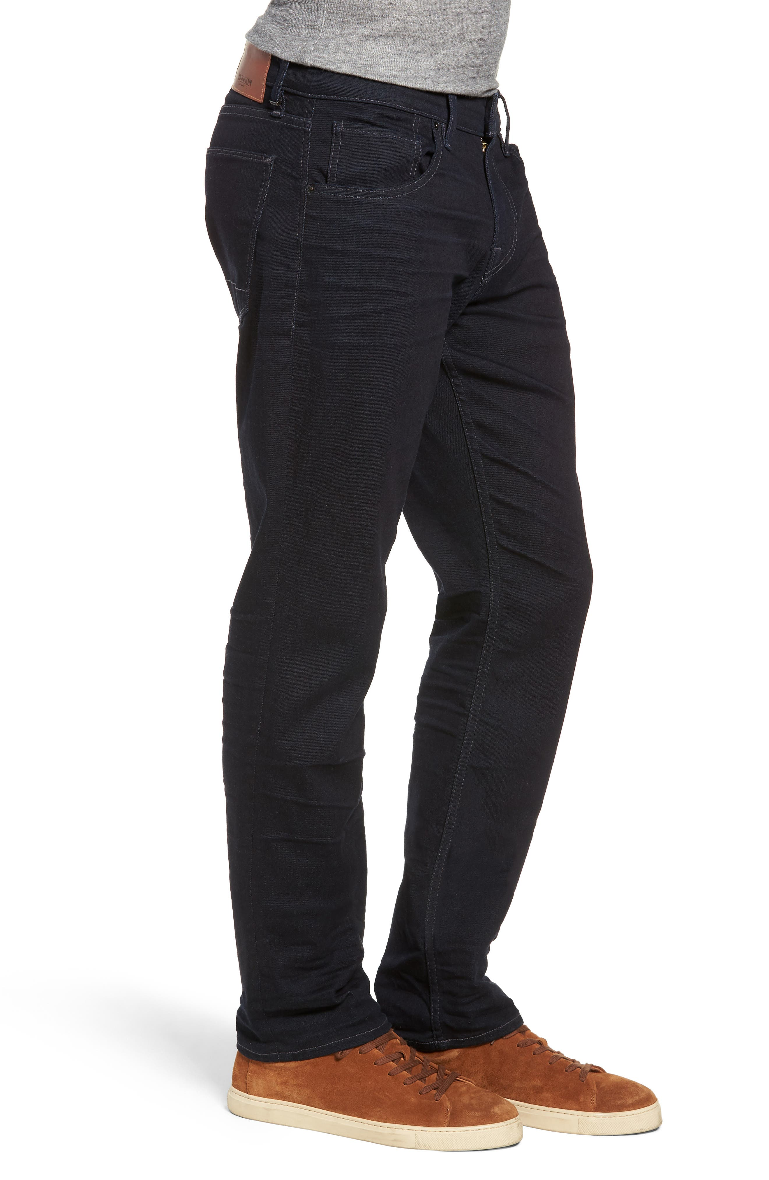 HUDSON JEANS, Byron Slim Straight Leg Jeans, Alternate thumbnail 3, color, TUDOR