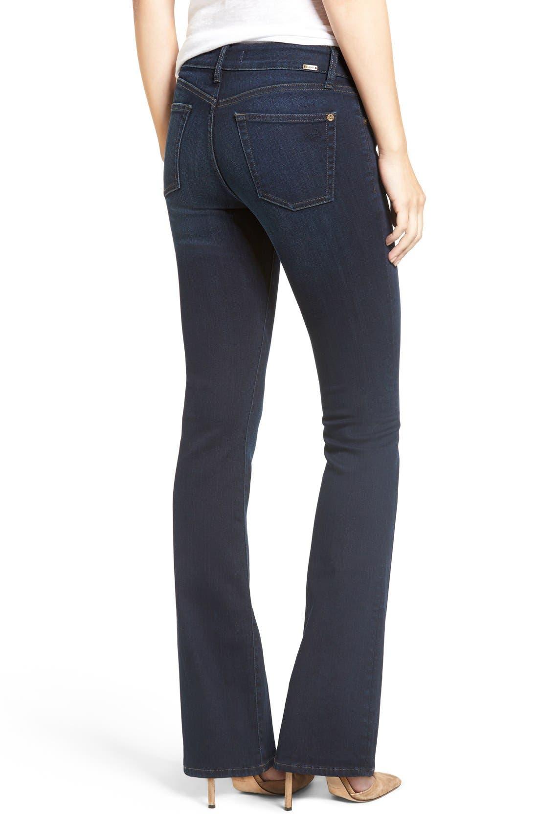 DL1961, 'Bridget 33' Bootcut Jeans, Alternate thumbnail 2, color, PEAK