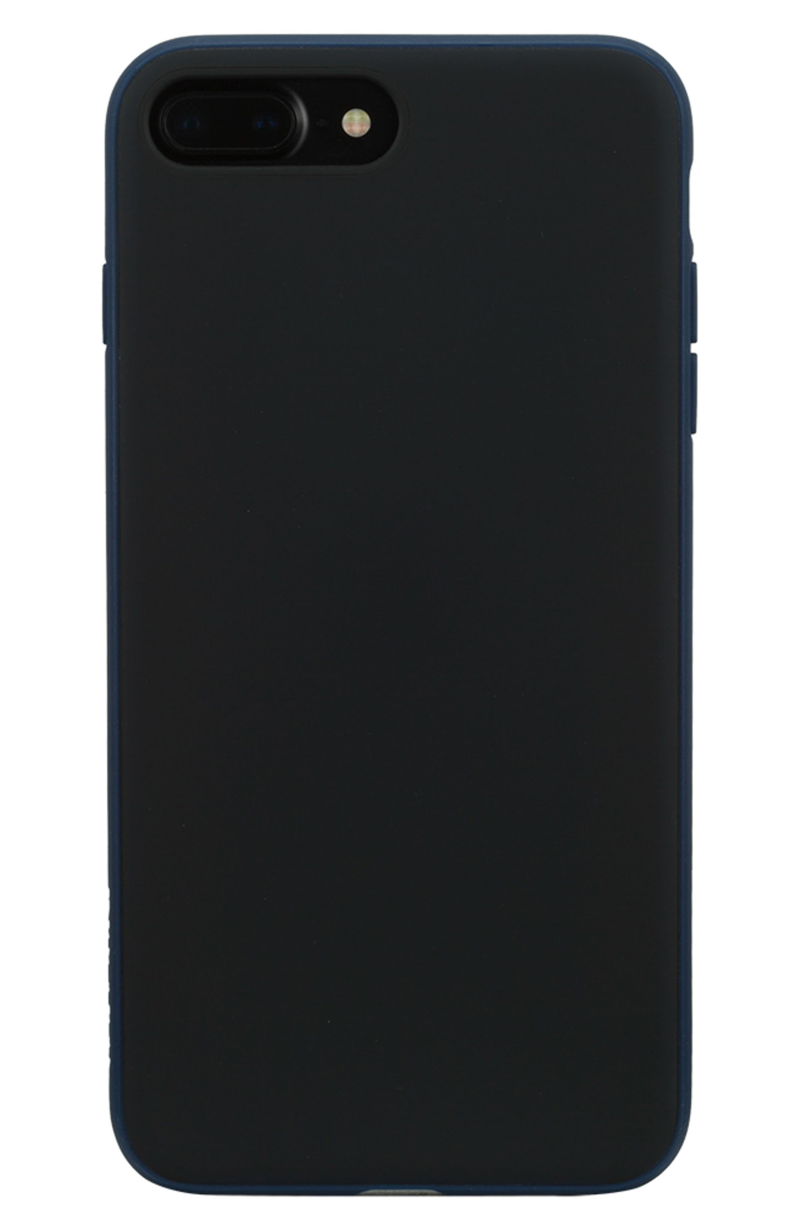 INCASE DESIGNS, Pop Tint iPhone 7/8 Plus Case, Main thumbnail 1, color, NAVY