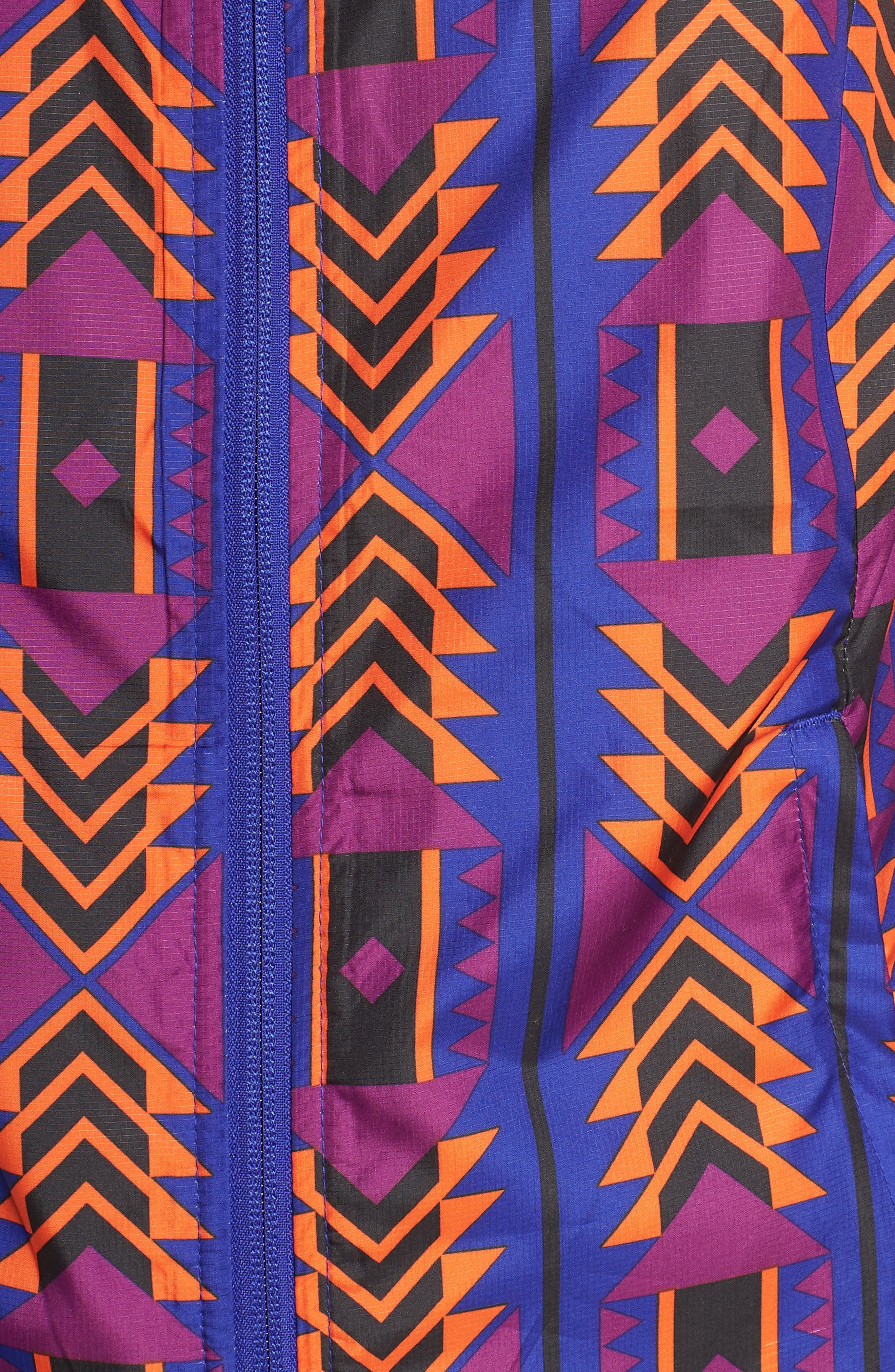 THE NORTH FACE, Print Cyclone 3.0 WindWall<sup>®</sup> Jacket, Alternate thumbnail 7, color, AZTEC BLUE 1992 RAGE PRINT