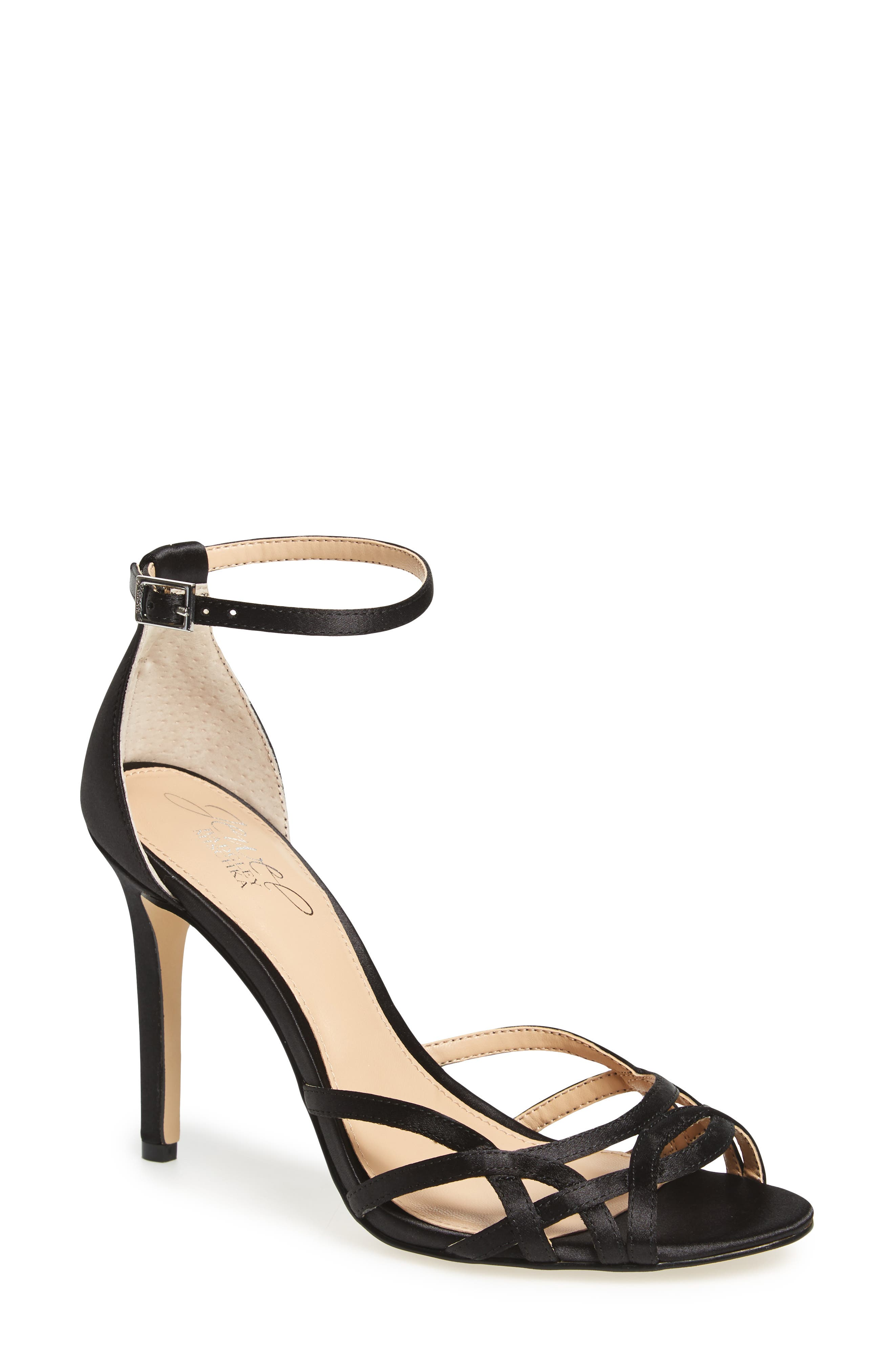 JEWEL BADGLEY MISCHKA Haskell II Strappy Sandal, Main, color, 015