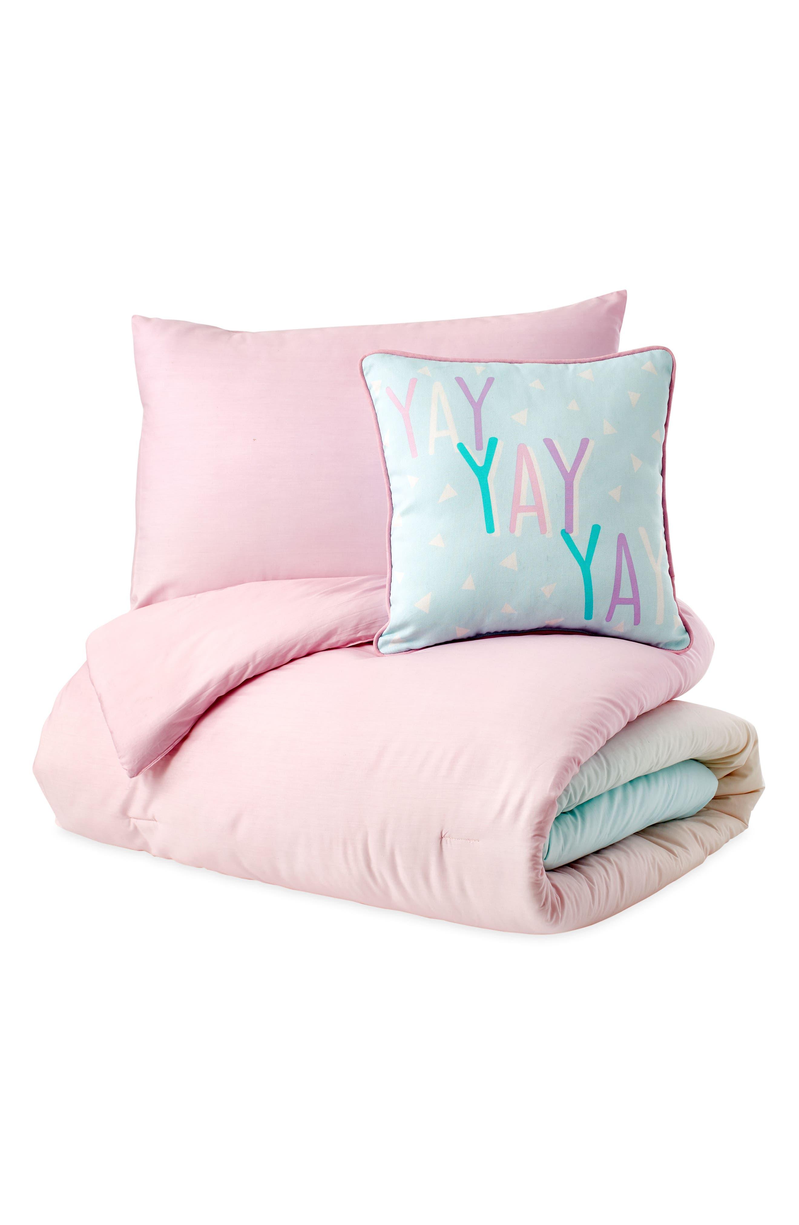 DKNY, Empire Light Comforter, Sham & Accent Pillow Set, Alternate thumbnail 2, color, 675