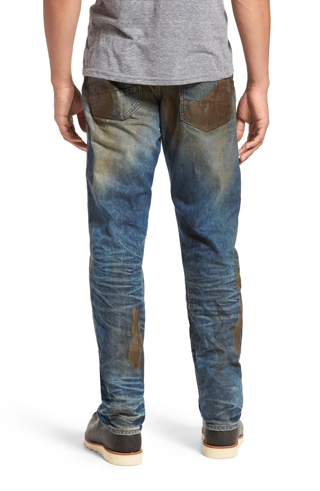 PRPS, Barracuda Straight Leg Jeans, Alternate thumbnail 2, color, 490