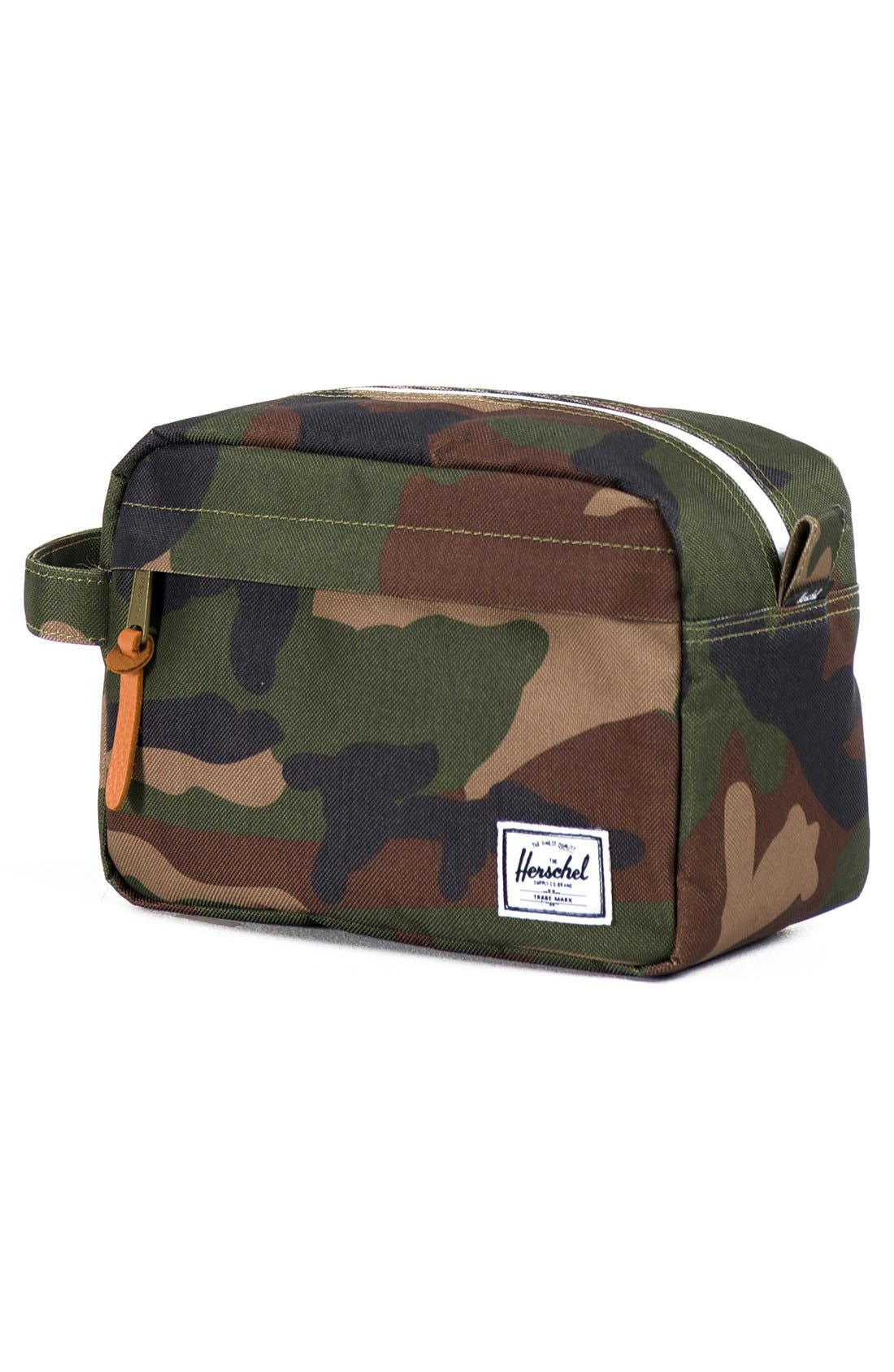 HERSCHEL SUPPLY CO., Chapter Toiletry Case, Alternate thumbnail 2, color, WOODLAND CAMO