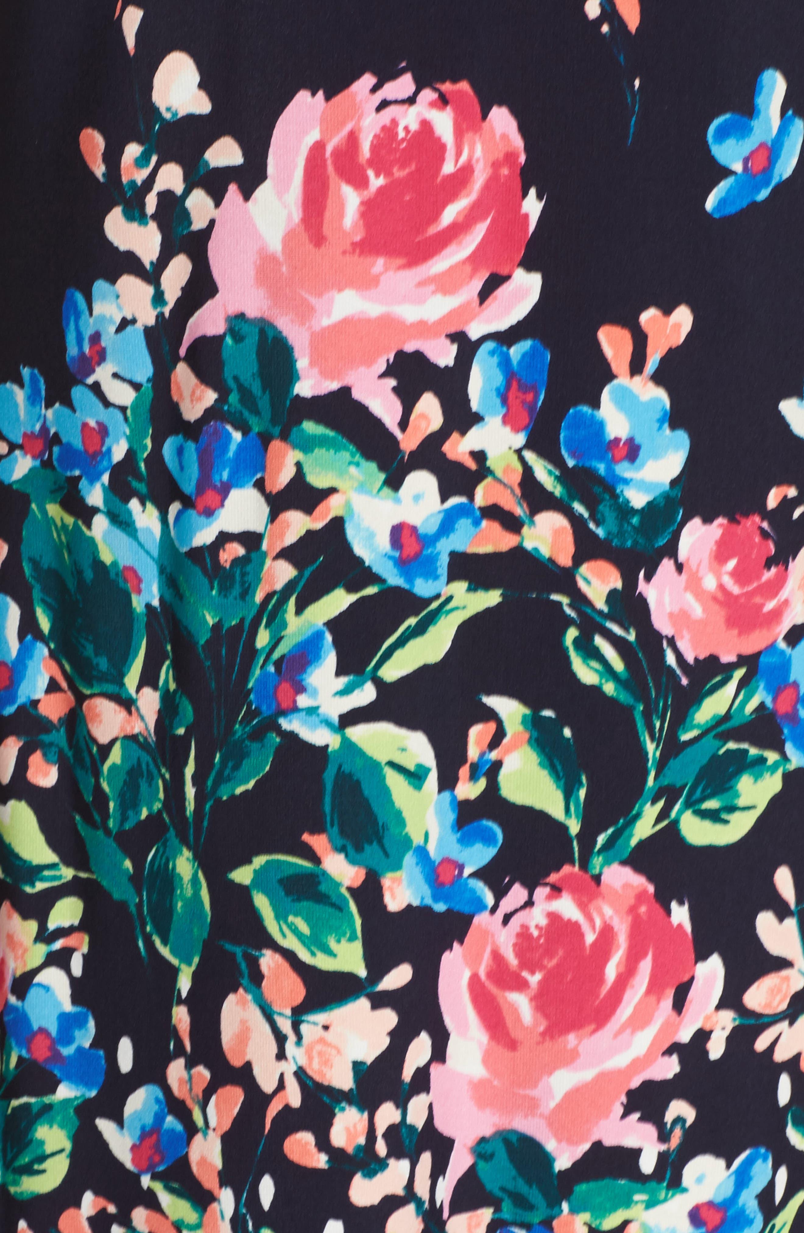 ELIZA J, Jersey Shift Dress, Alternate thumbnail 5, color, 410