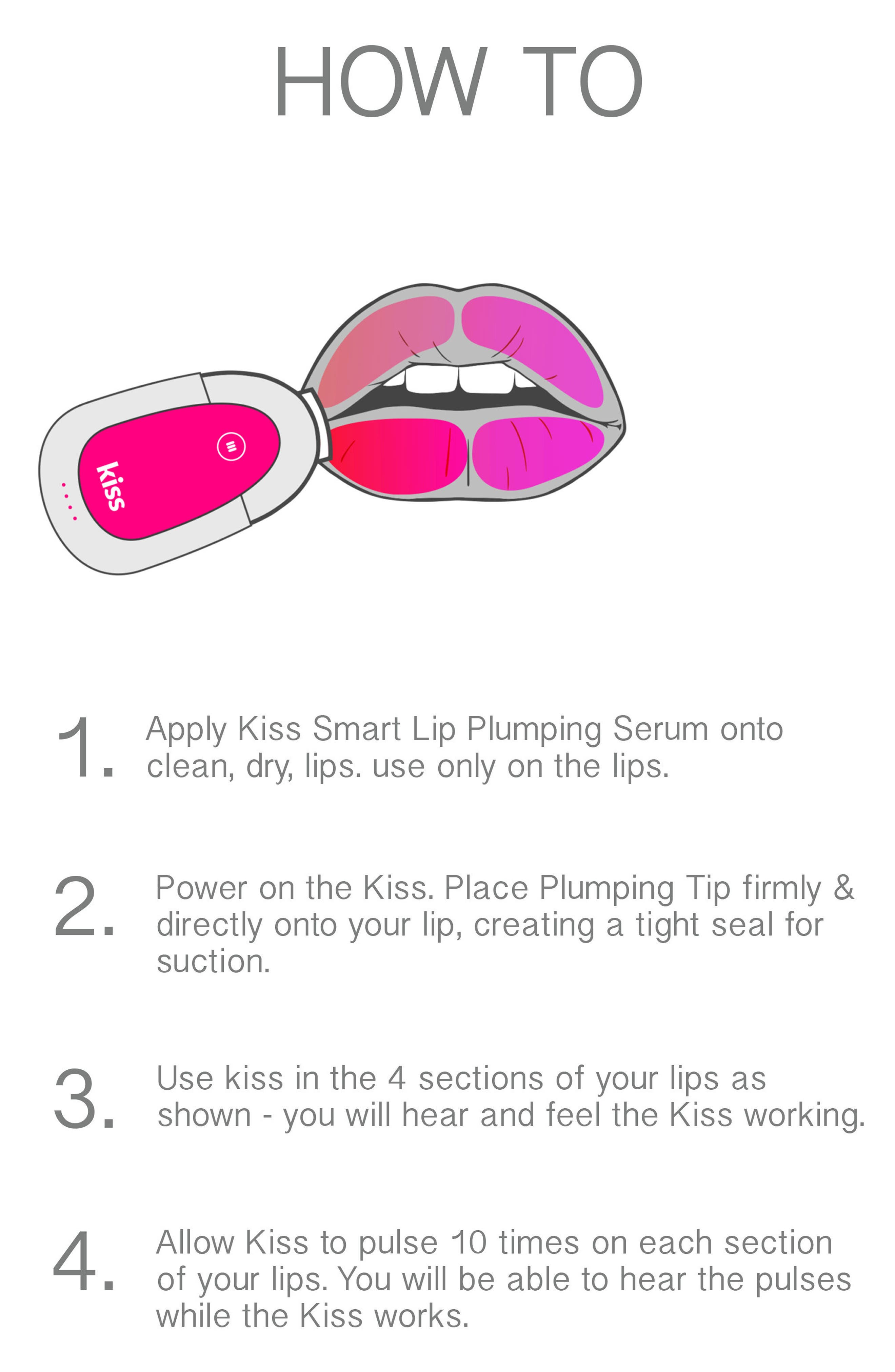 PMD, Kiss Lip Plumping System, Alternate thumbnail 3, color, NO COLOR