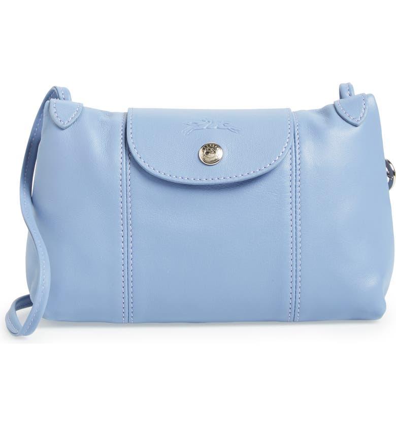 68a87cd9ac0ba Longchamp Le Pliage - Cuir Crossbody Bag