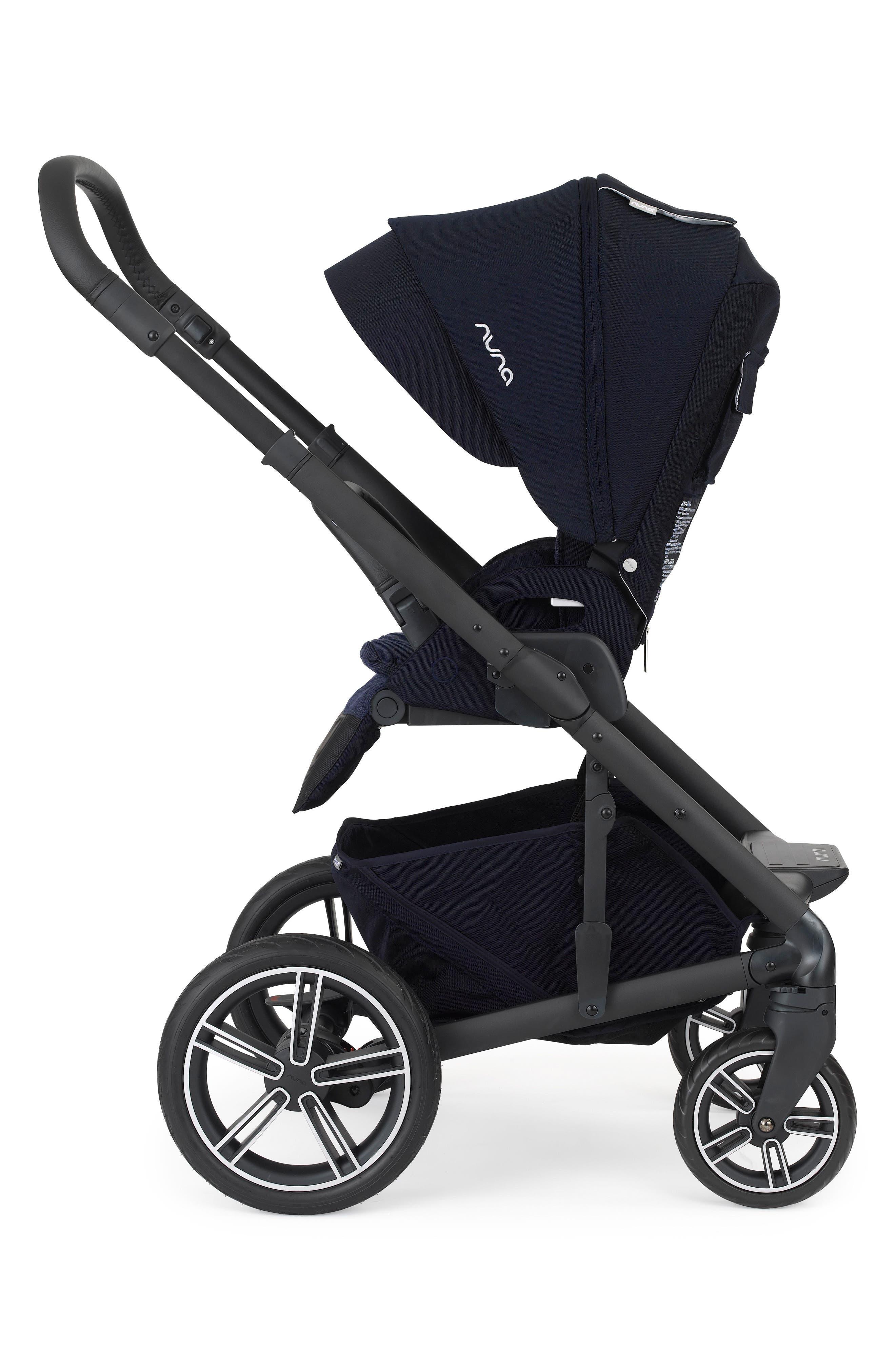NUNA, MIXX2<sup>™</sup> Three Mode Stroller with All Terrain Tires, Alternate thumbnail 2, color, INDIGO