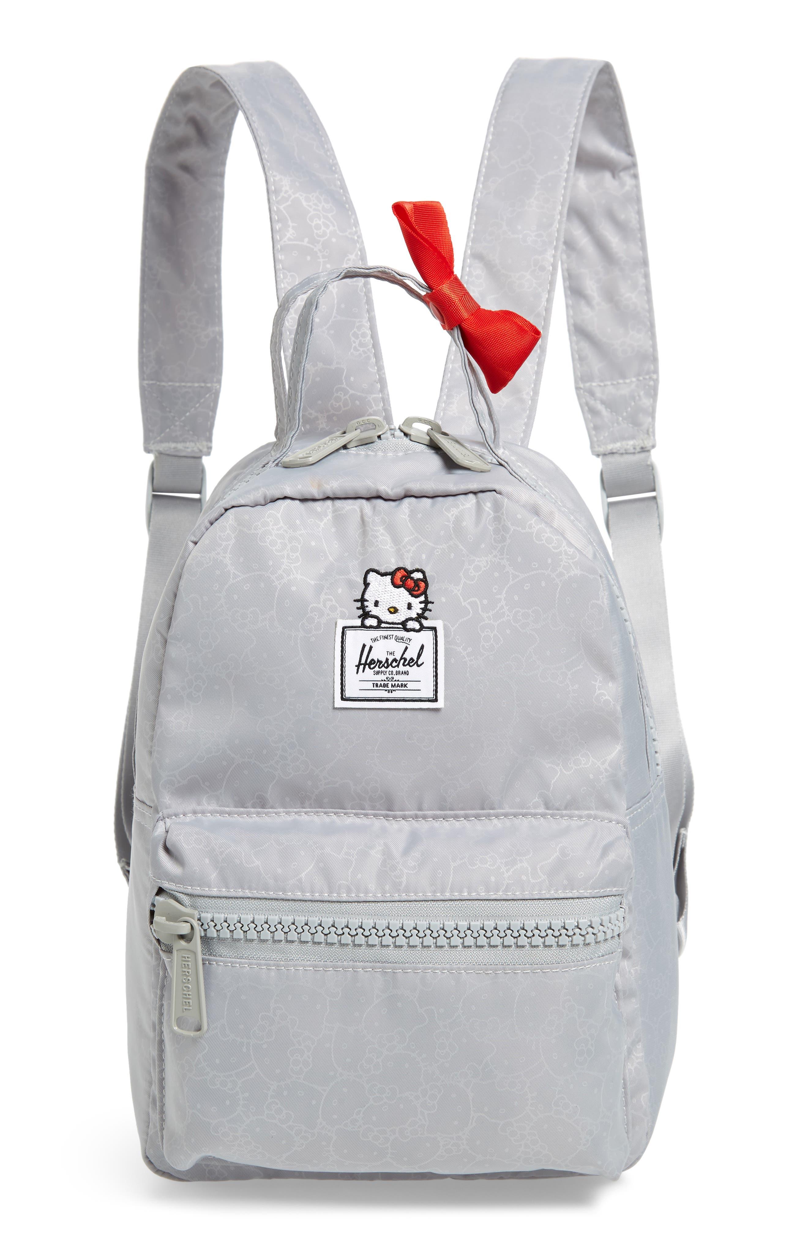 HERSCHEL SUPPLY CO. x Hello Kitty Mini Nova Backpack, Main, color, HIGHRISE