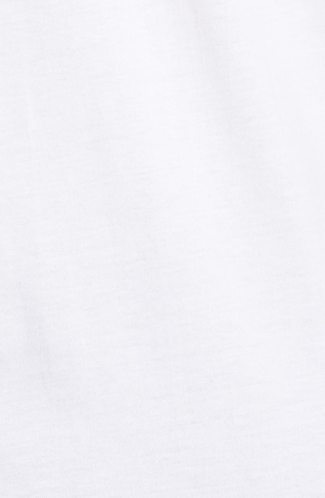 ADIDAS ORIGINALS, 'Island Superstar' Graphic T-Shirt, Alternate thumbnail 2, color, 100
