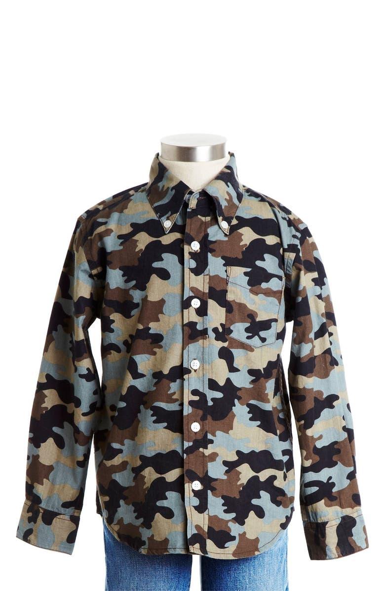 abb518dd5 PEEK AREN'T YOU CURIOUS Peek Camo Print Button Down Shirt, Main, color
