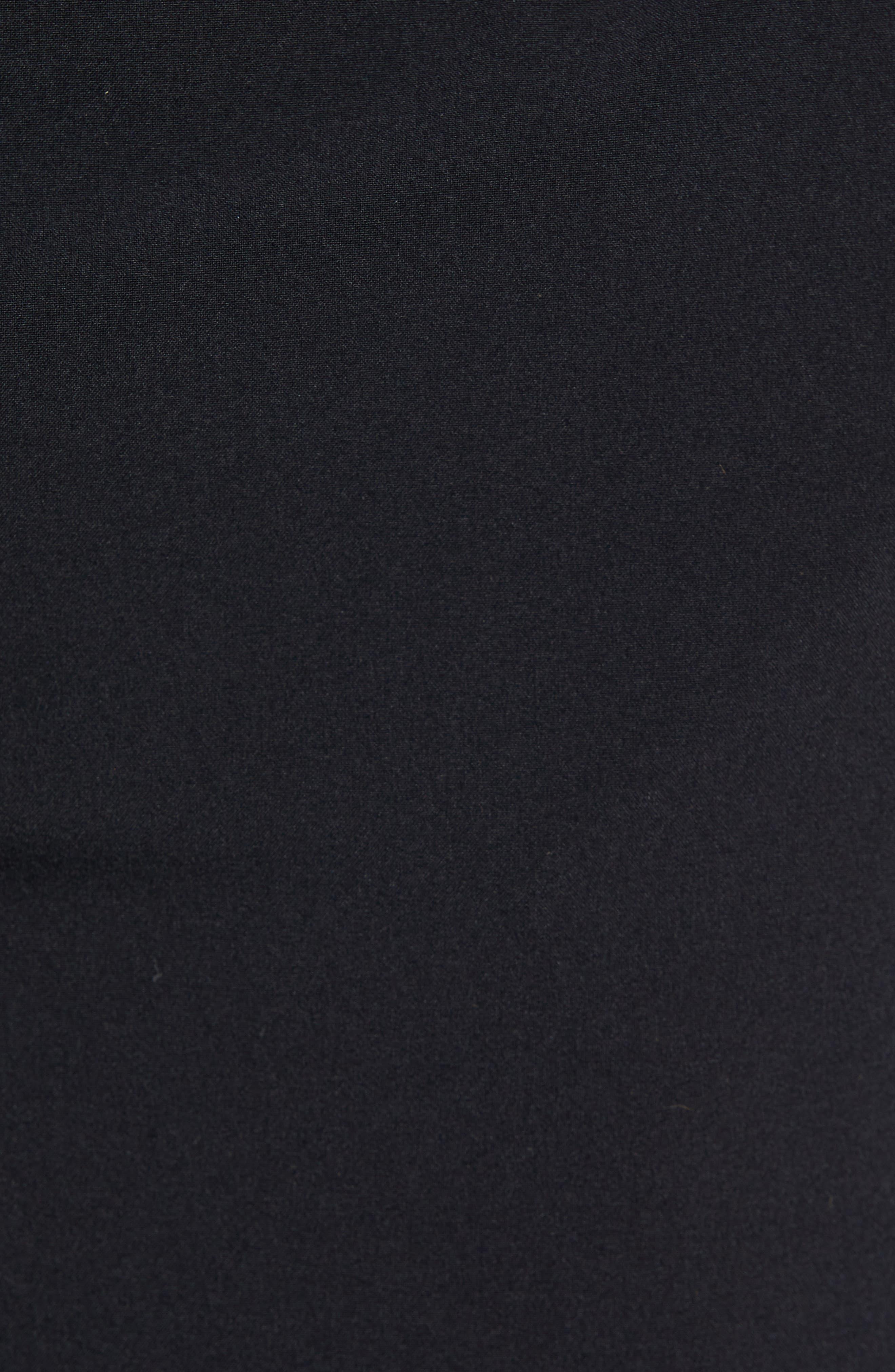 RHONE, Mako Lined Shorts, Alternate thumbnail 5, color, BLACK