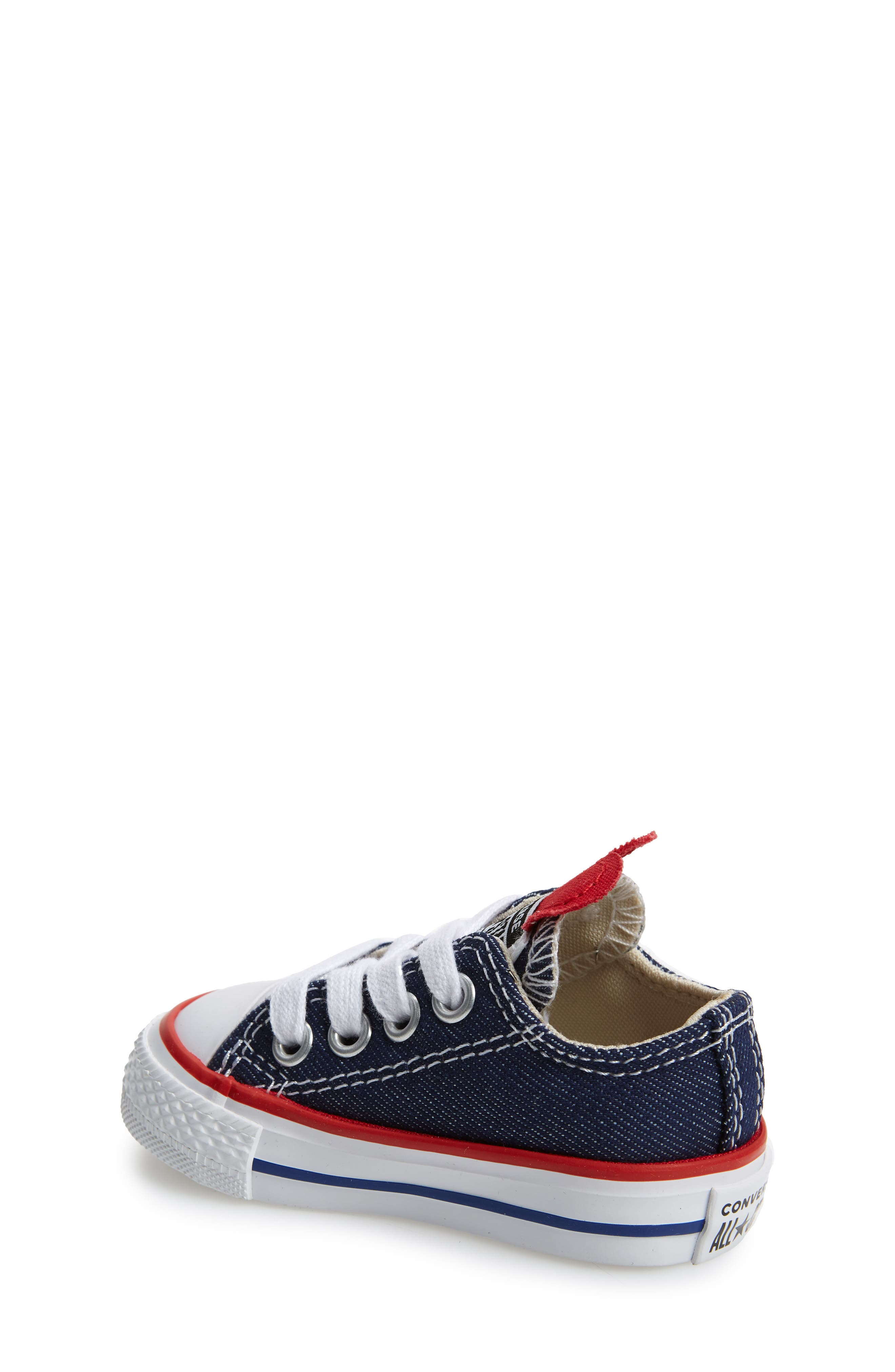 CONVERSE, Chuck Taylor<sup>®</sup> All Star<sup>®</sup> Ox Low Top Sneaker, Alternate thumbnail 2, color, 410