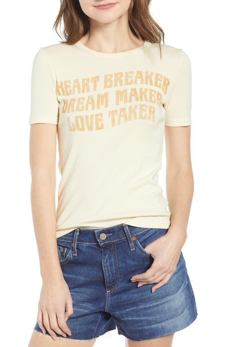 Junk Food Tops HEART BREAKER TEE