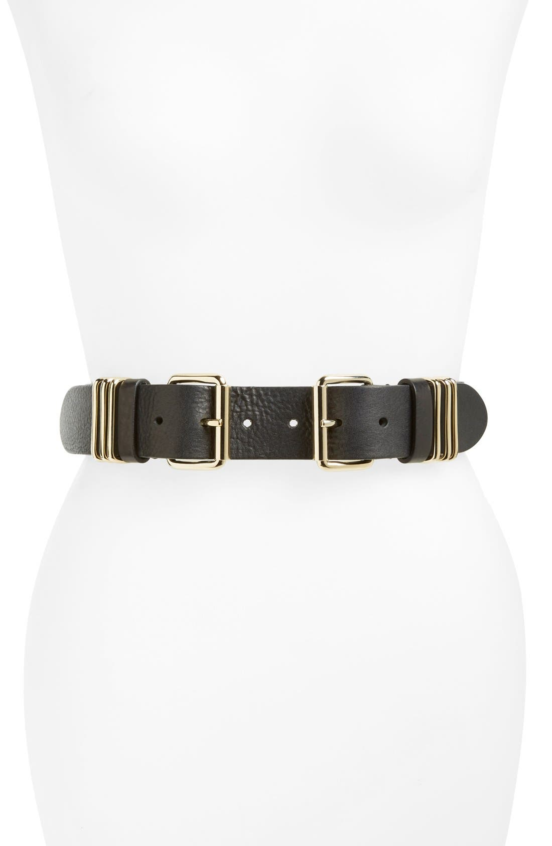 B-LOW THE BELT, 'Bangles' Belt, Main thumbnail 1, color, 001