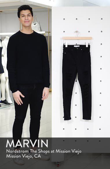Jamie Ripped High Waist Ankle Skinny Jeans, sales video thumbnail