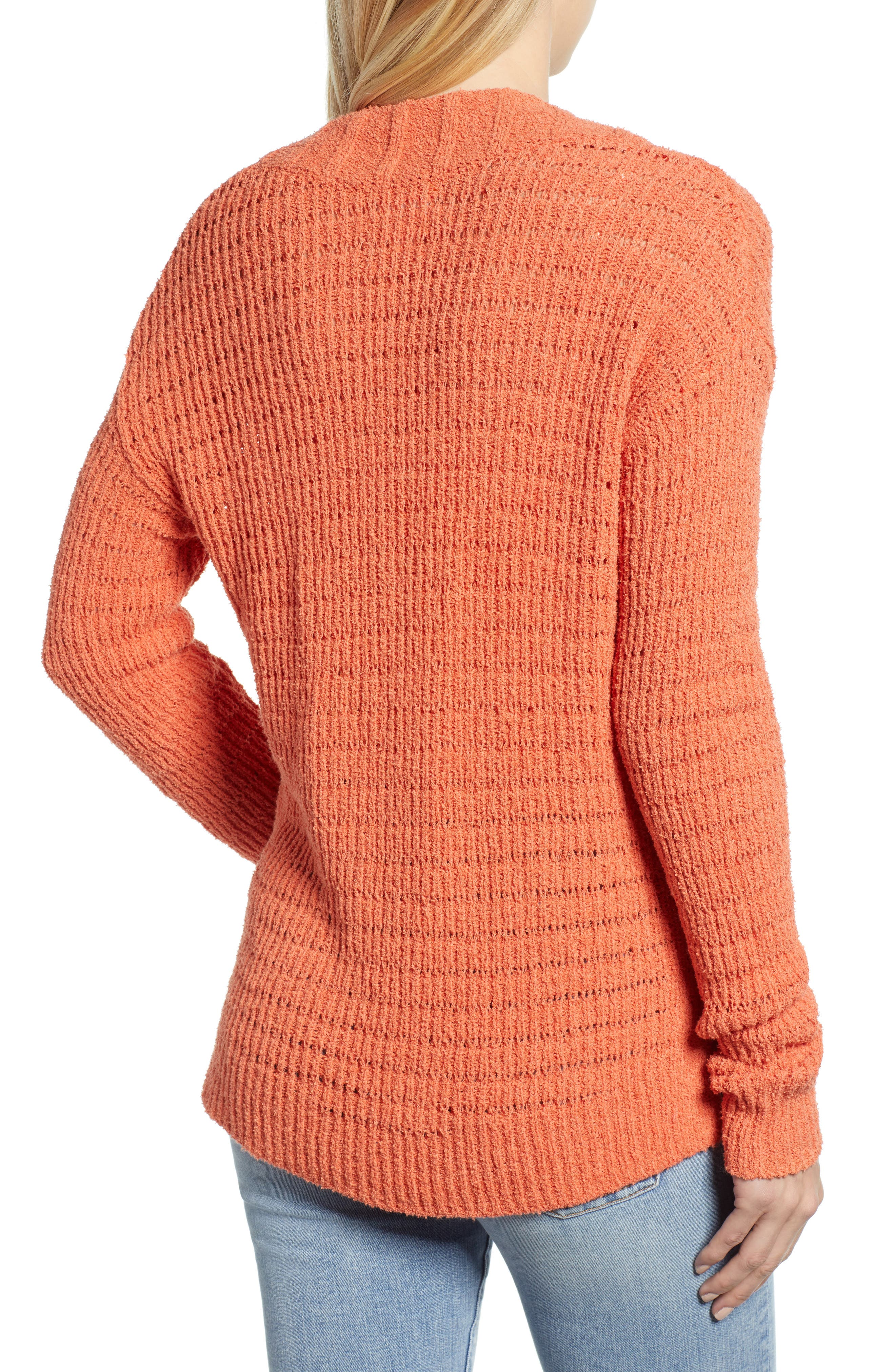 CASLON<SUP>®</SUP>, Tuck Stitch Sweater, Alternate thumbnail 2, color, 801