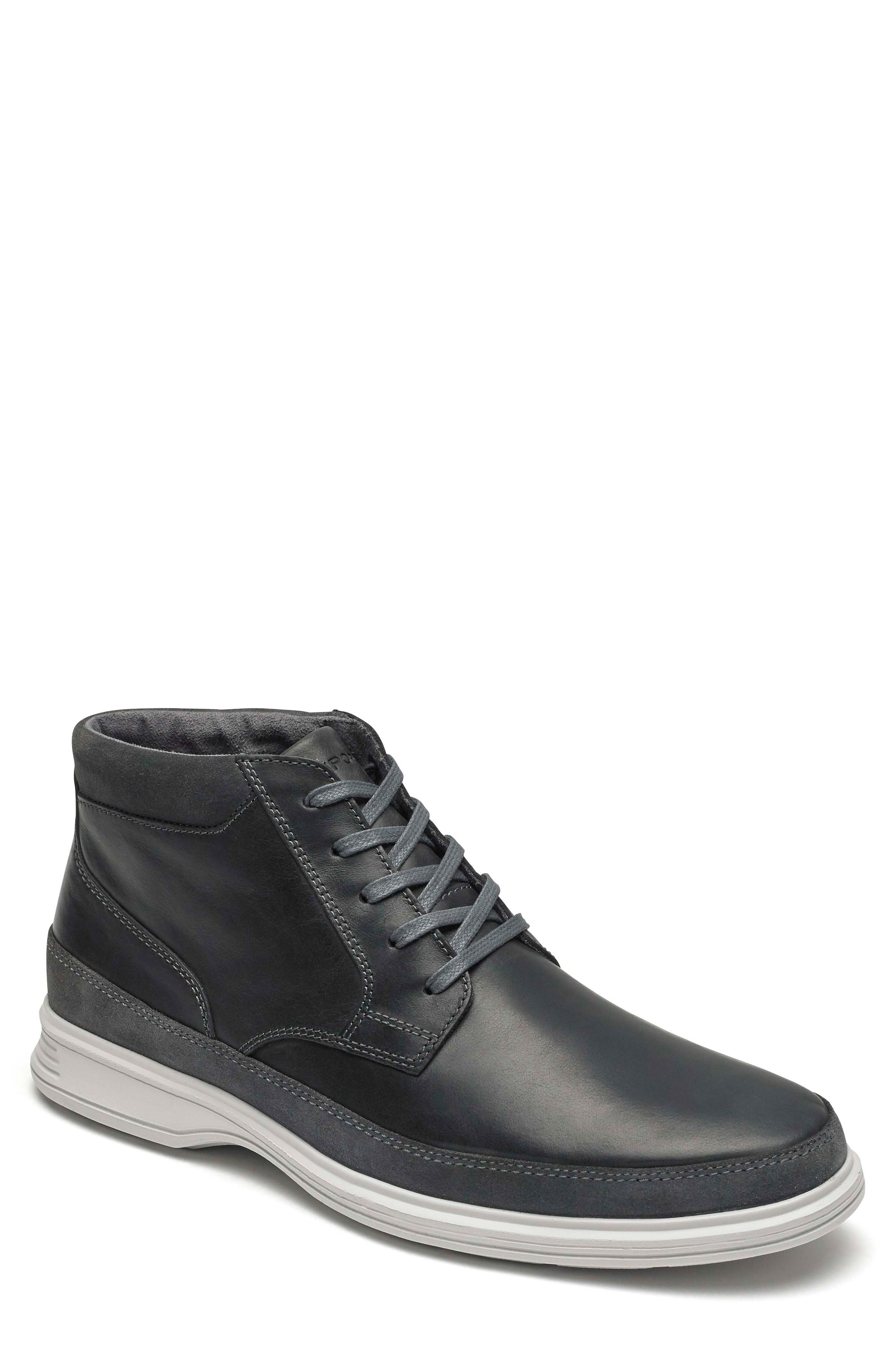 Rockport Dressports 2 Go Chukka Boot, Grey