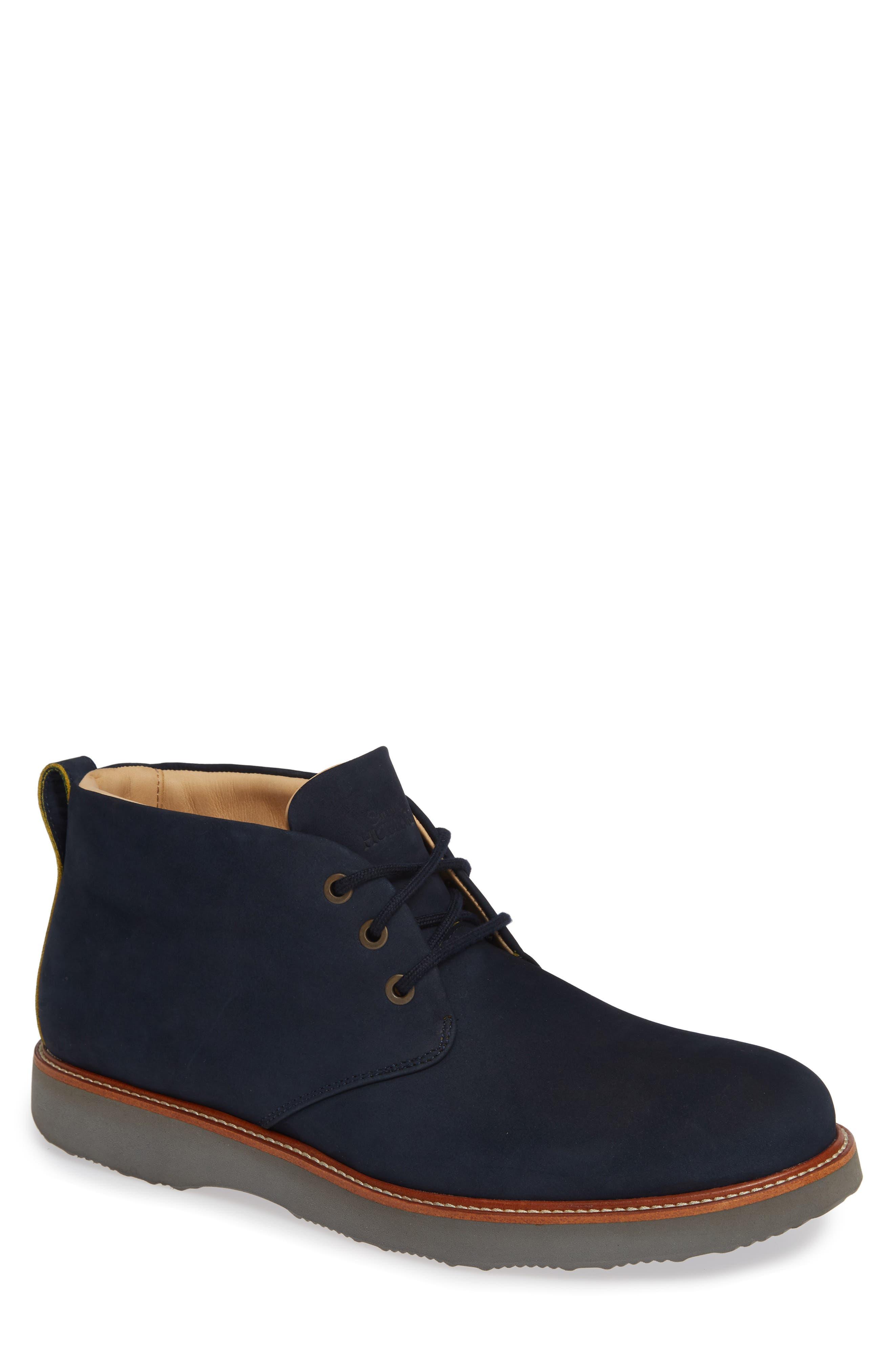 Samuel Hubbard Re-Boot Chukka Boot- Blue