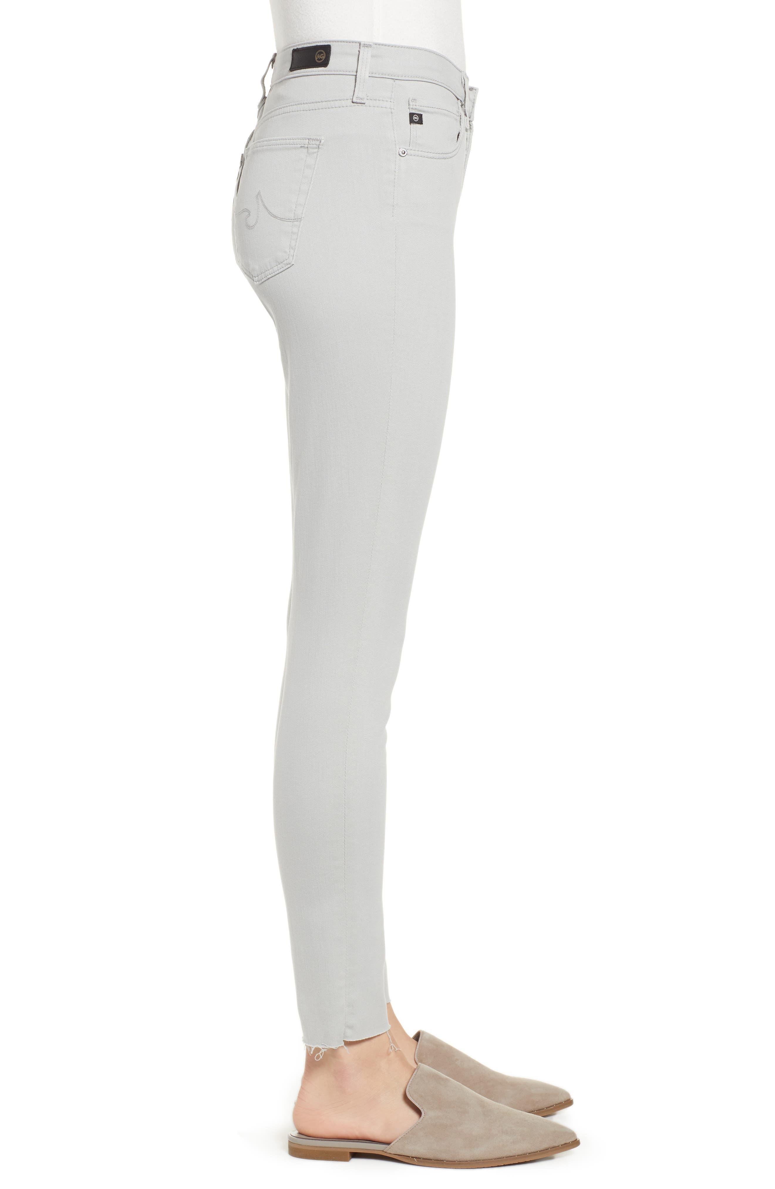 AG, The Legging Ankle Super Skinny Jeans, Alternate thumbnail 4, color, MISTY MIRROR