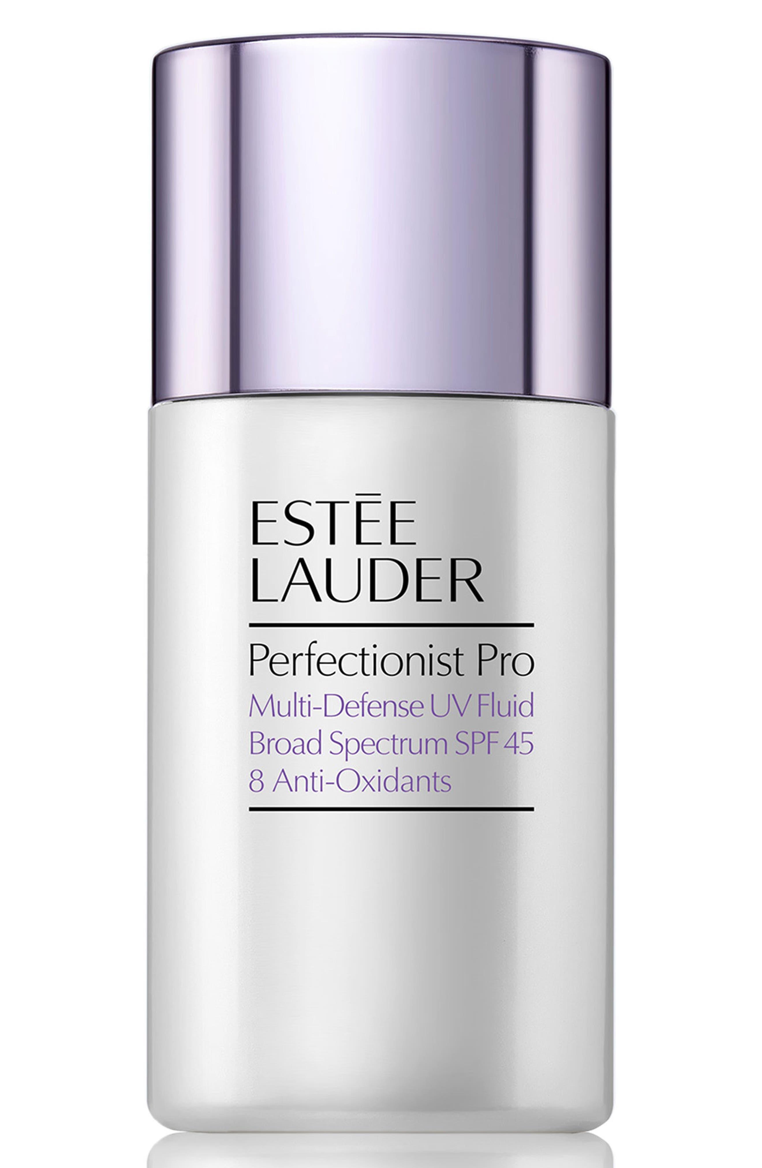 ESTÉE LAUDER, Perfectionist Pro Multi-Defense UV Fluid SPF 45, Main thumbnail 1, color, NO COLOR