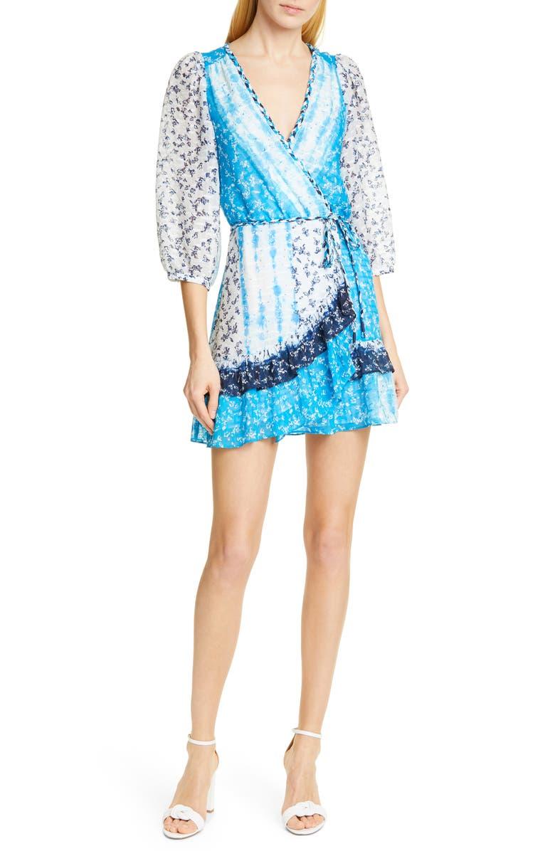Tanya Taylor Dresses MARISA FAUX WRAP SILK BLEND DRESS