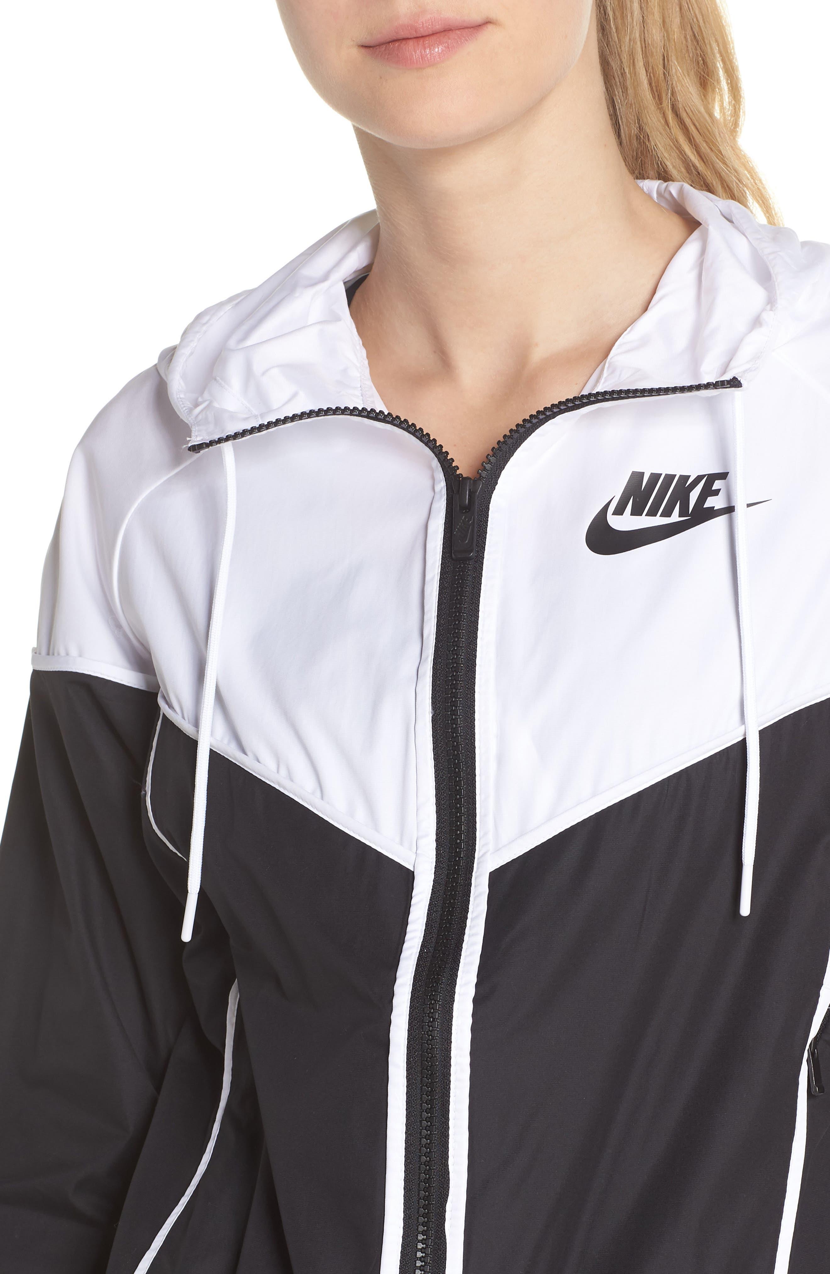 NIKE, Sportswear Windrunner Jacket, Alternate thumbnail 5, color, 011