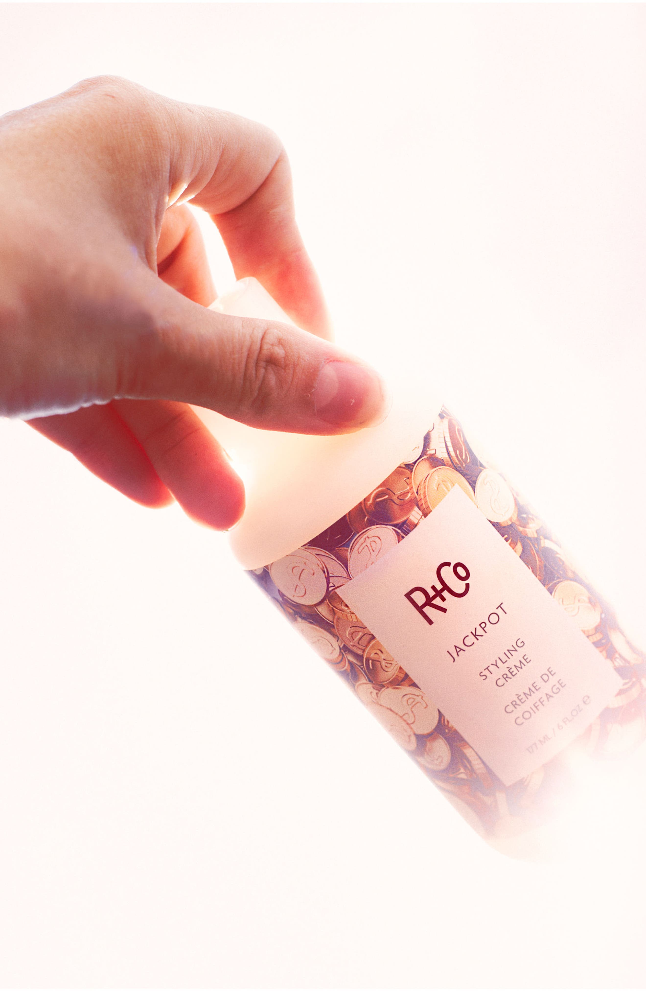 R+CO, SPACE.NK.apothecary R+Co Jackpot Styling Crème, Alternate thumbnail 4, color, NO COLOR