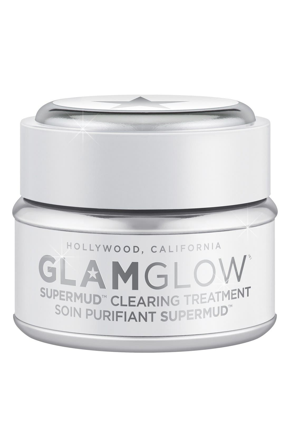 GLAMGLOW<SUP>®</SUP>, 'SUPERMUD<sup>™</sup>' Clearing Treatment, Main thumbnail 1, color, 000