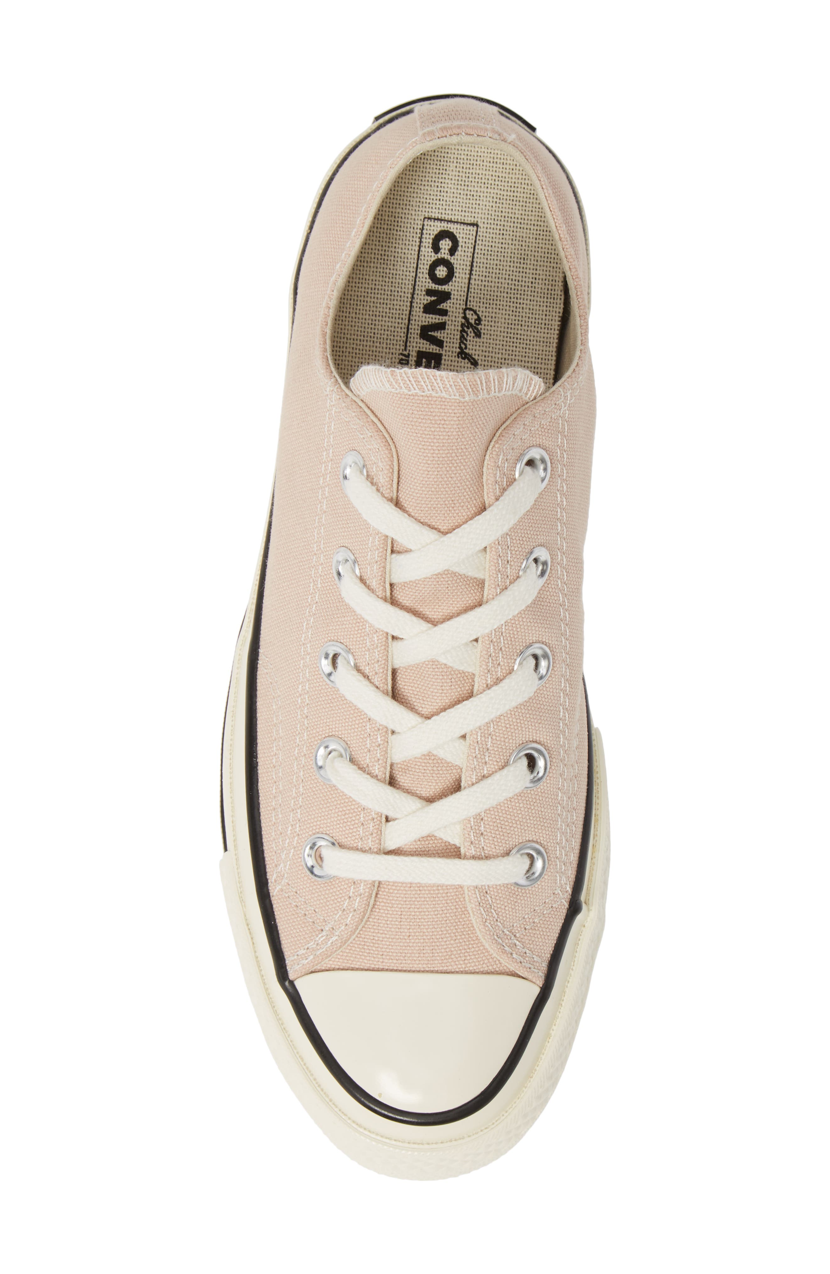 CONVERSE, Chuck Taylor<sup>®</sup> All Star<sup>®</sup> Chuck 70 Ox Sneaker, Alternate thumbnail 5, color, PARTICLE BEIGE/ BLACK/ EGRET