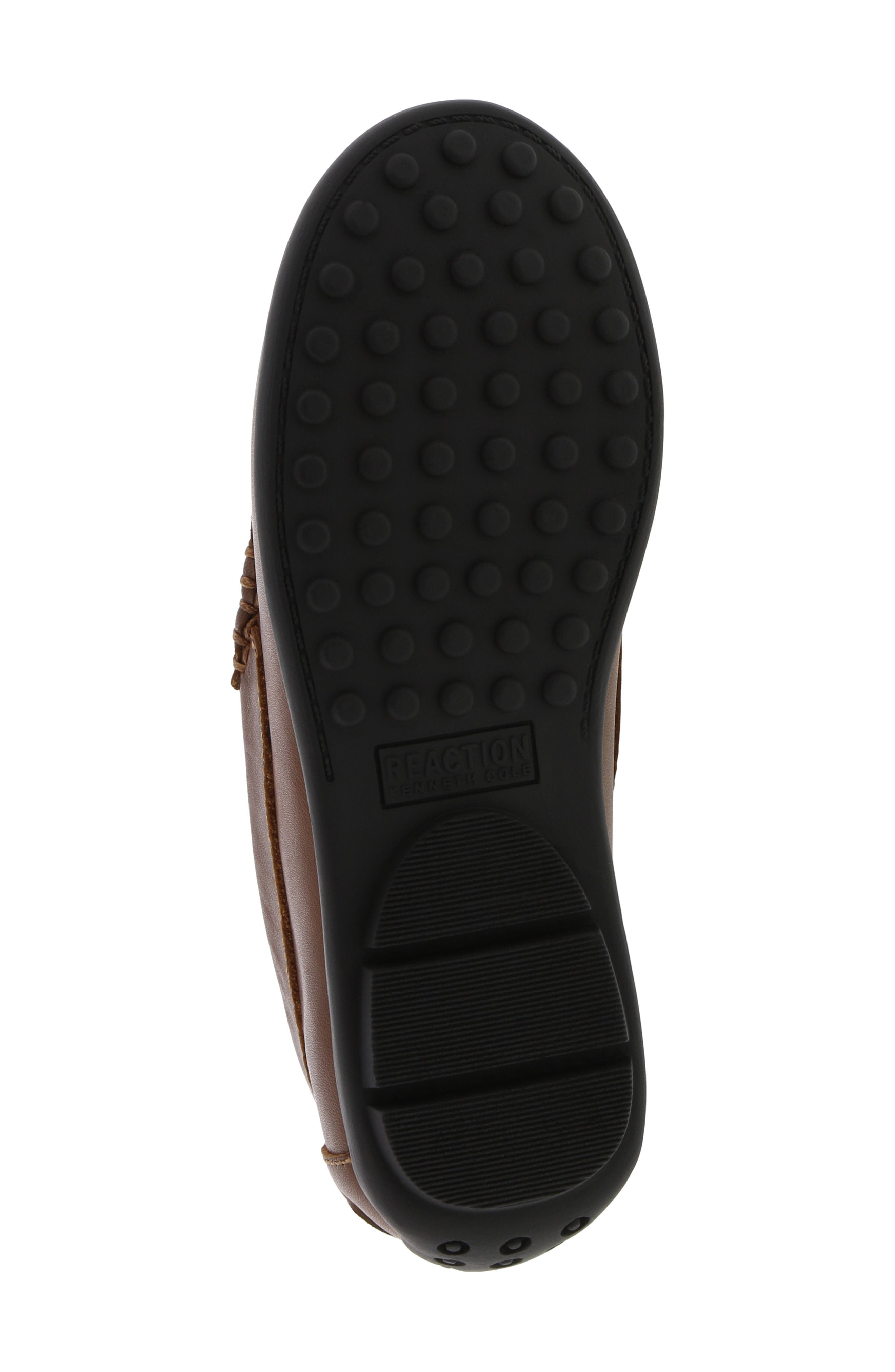 REACTION KENNETH COLE, Helio Gear Loafer, Alternate thumbnail 6, color, COGNAC
