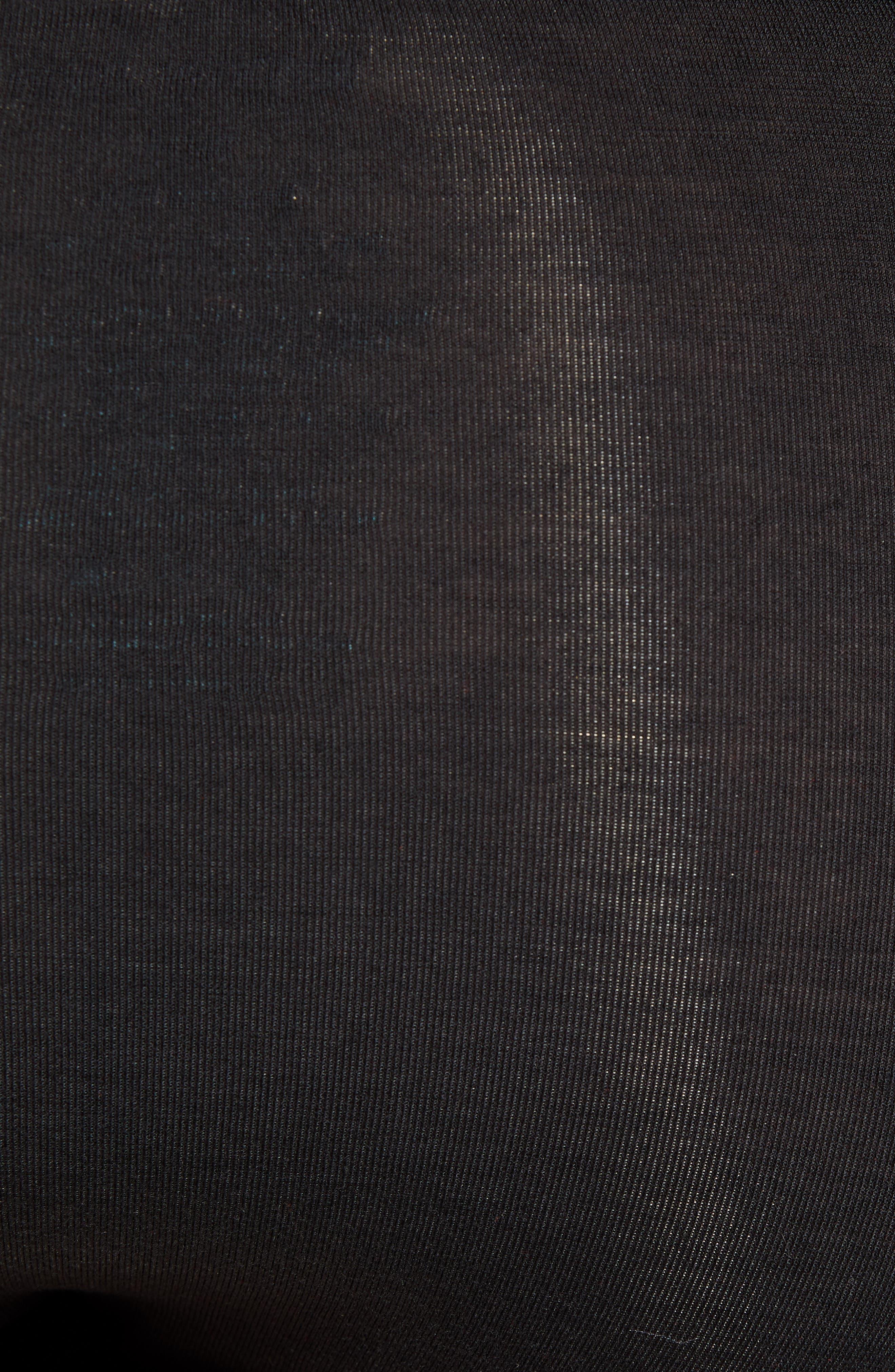 TOMMY JOHN, Second Skin Gunmetal Briefs, Alternate thumbnail 5, color, BLACK