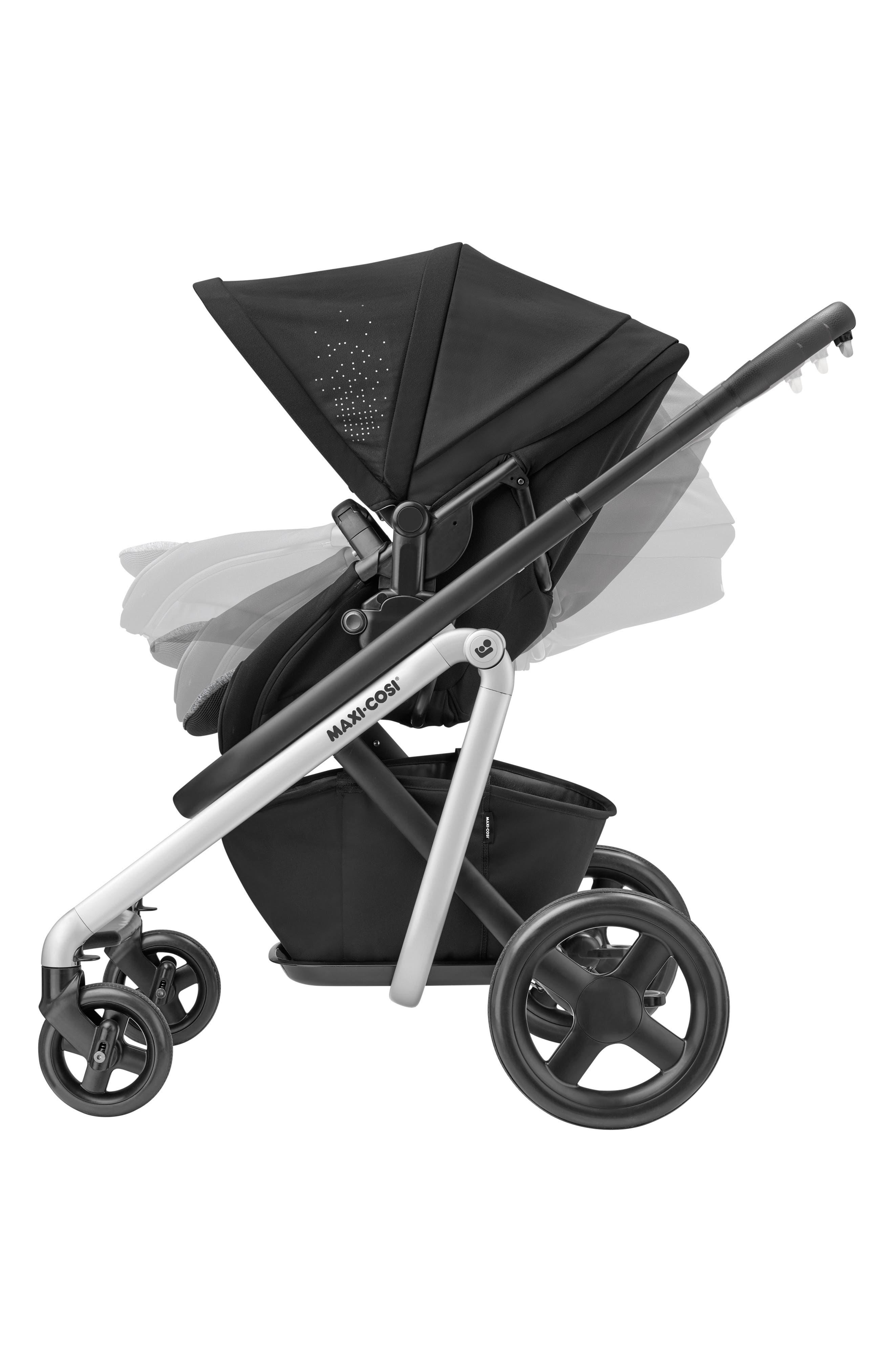 MAXI-COSI<SUP>®</SUP>, Lila Modular Stroller, Alternate thumbnail 11, color, NOMAD BLACK