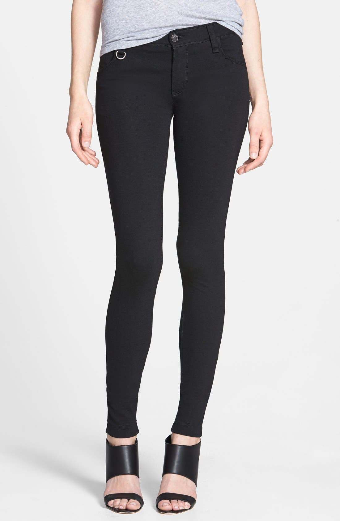 BURBERRY BRIT Five-Pocket Pants, Main, color, 001