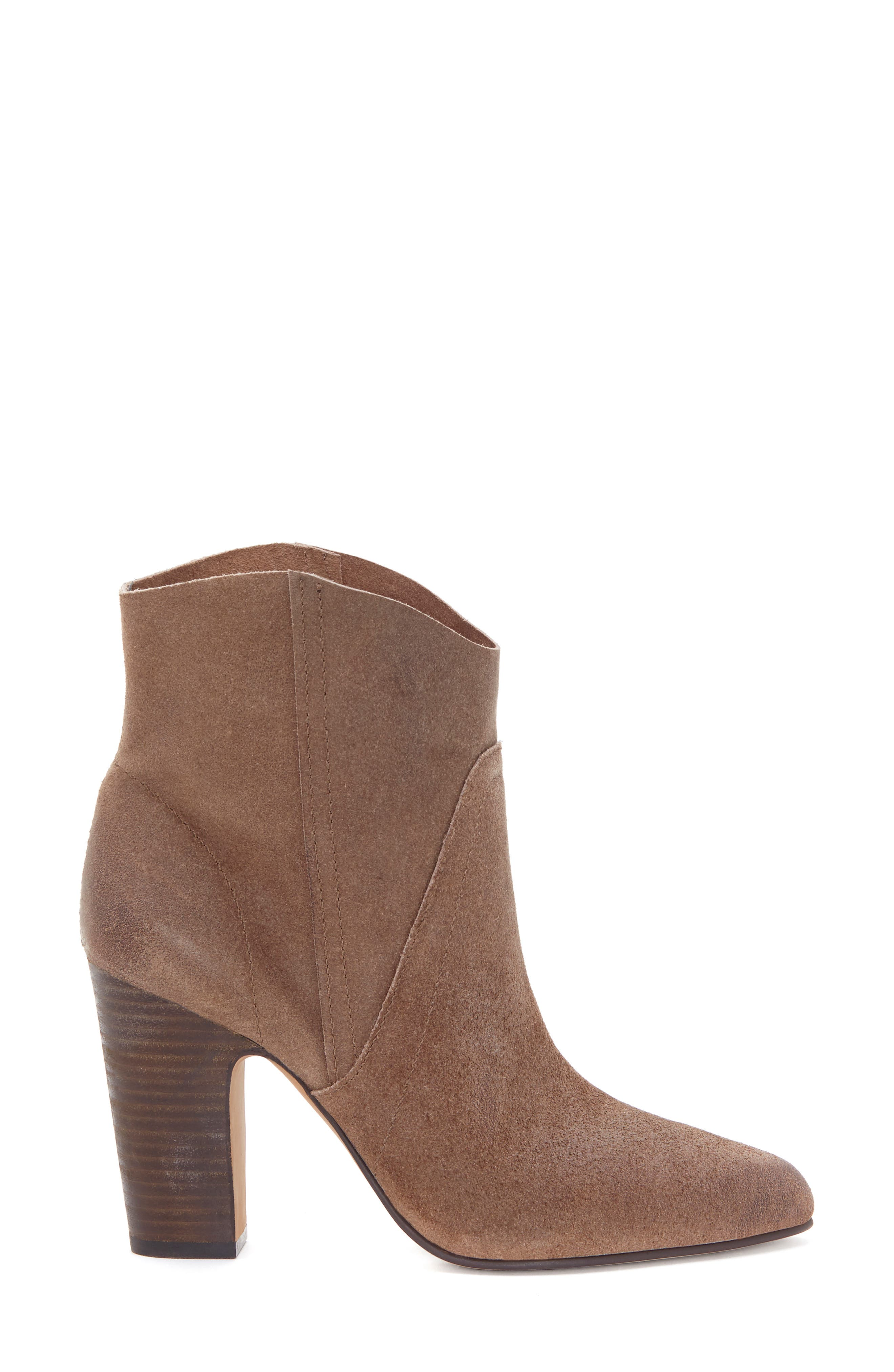 VINCE CAMUTO, Creestal Western Bootie, Alternate thumbnail 3, color, BEDROCK LEATHER