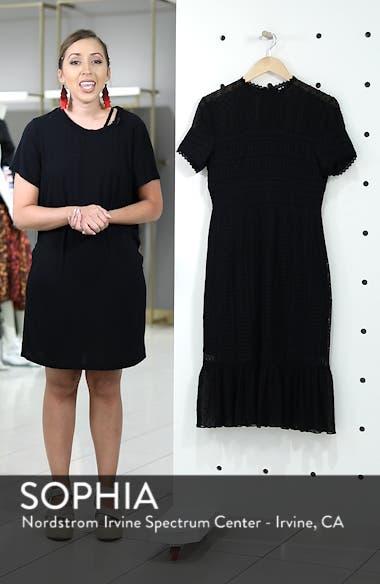 Lace & Swiss Dot Dress, sales video thumbnail