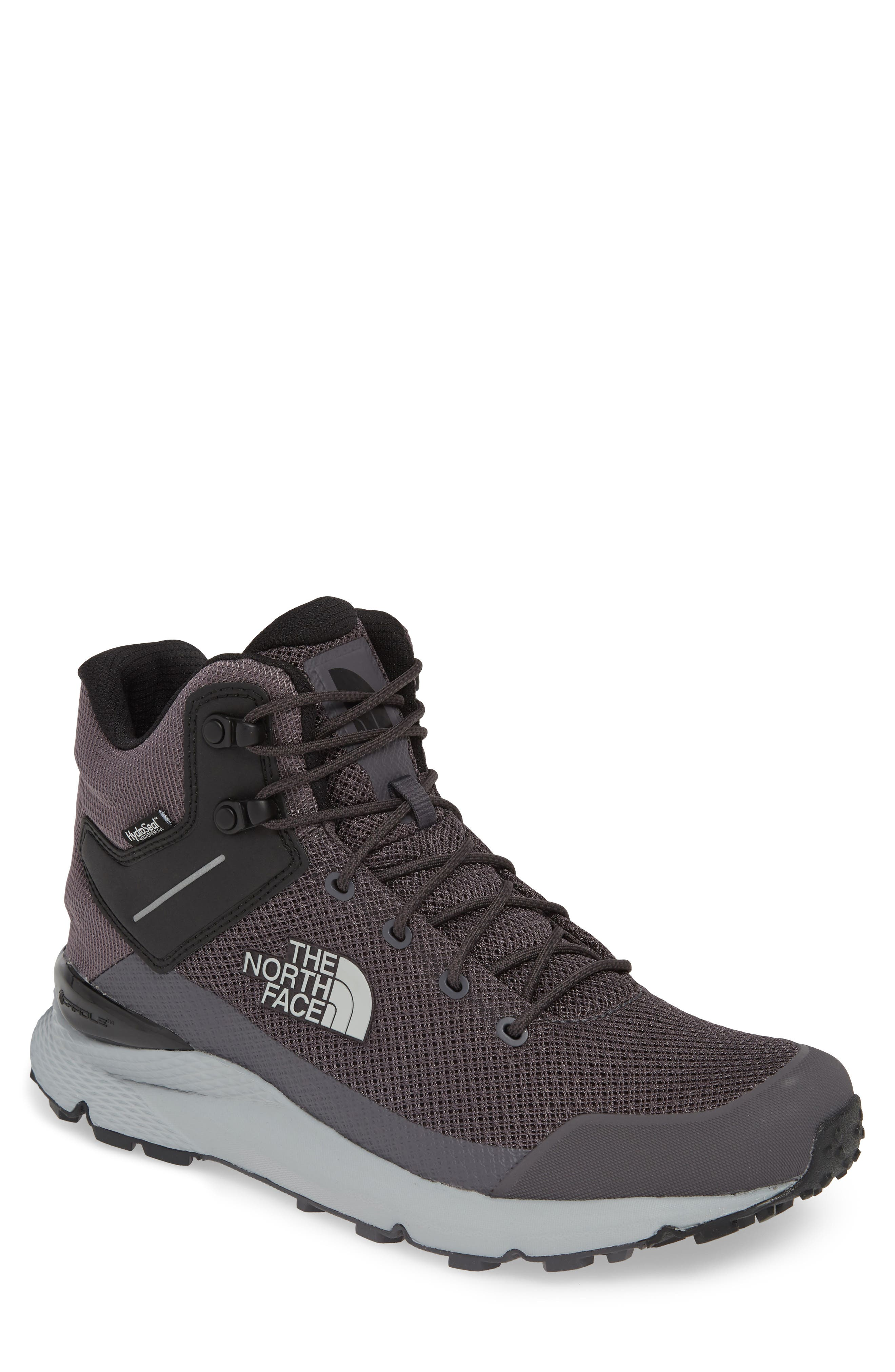 The North Face Val Mid Waterproof Hiking Boot, Black