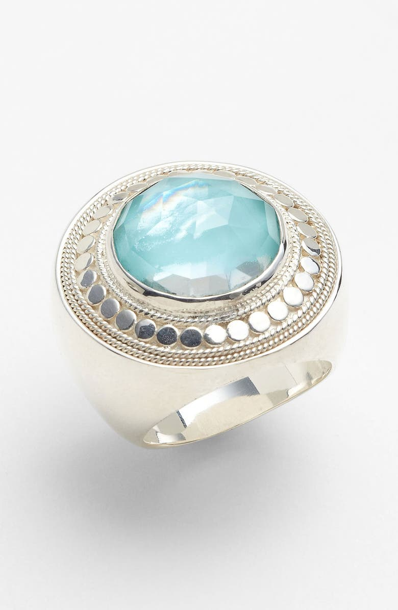 337d02228 ANNA BECK 'Gili' Wire Rimmed Cocktail Ring, Main, color, ...