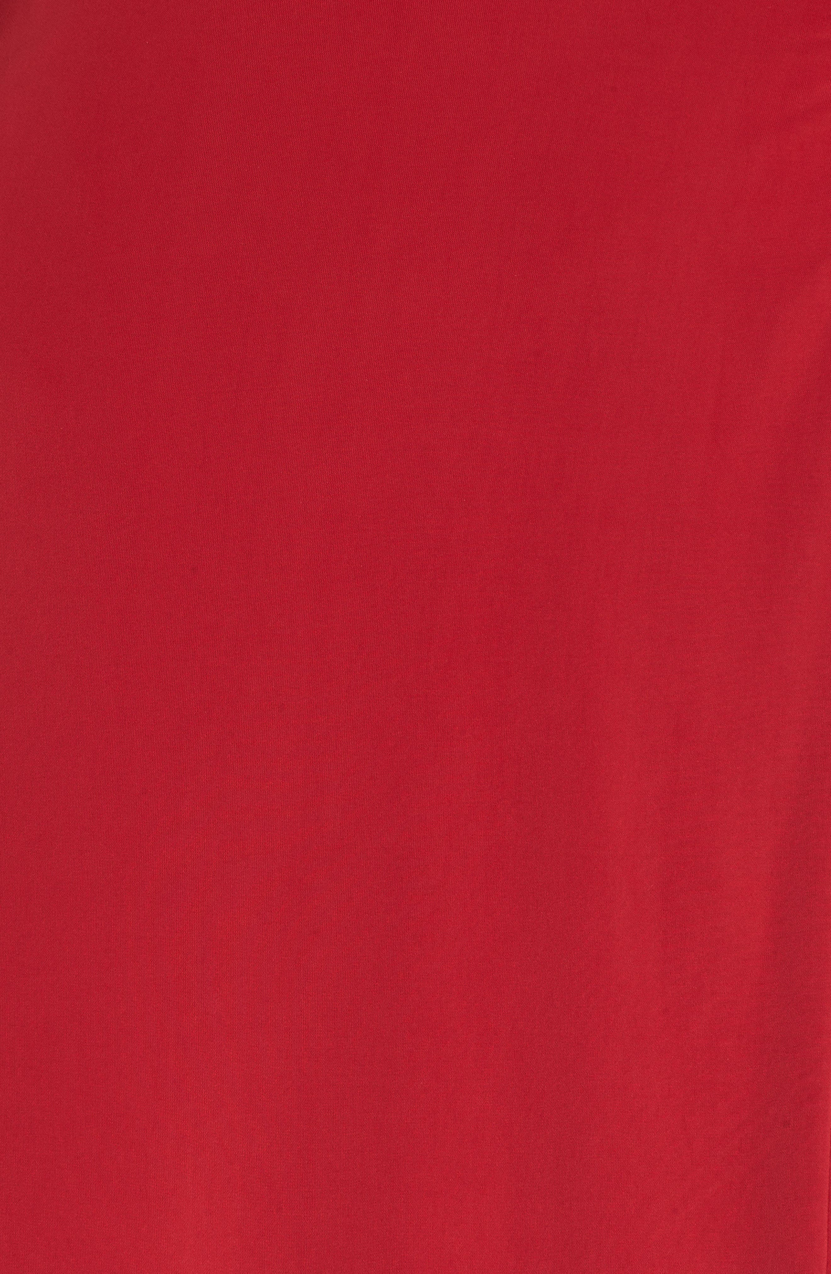 MISA LOS ANGELES, Irina Dress, Alternate thumbnail 6, color, RED