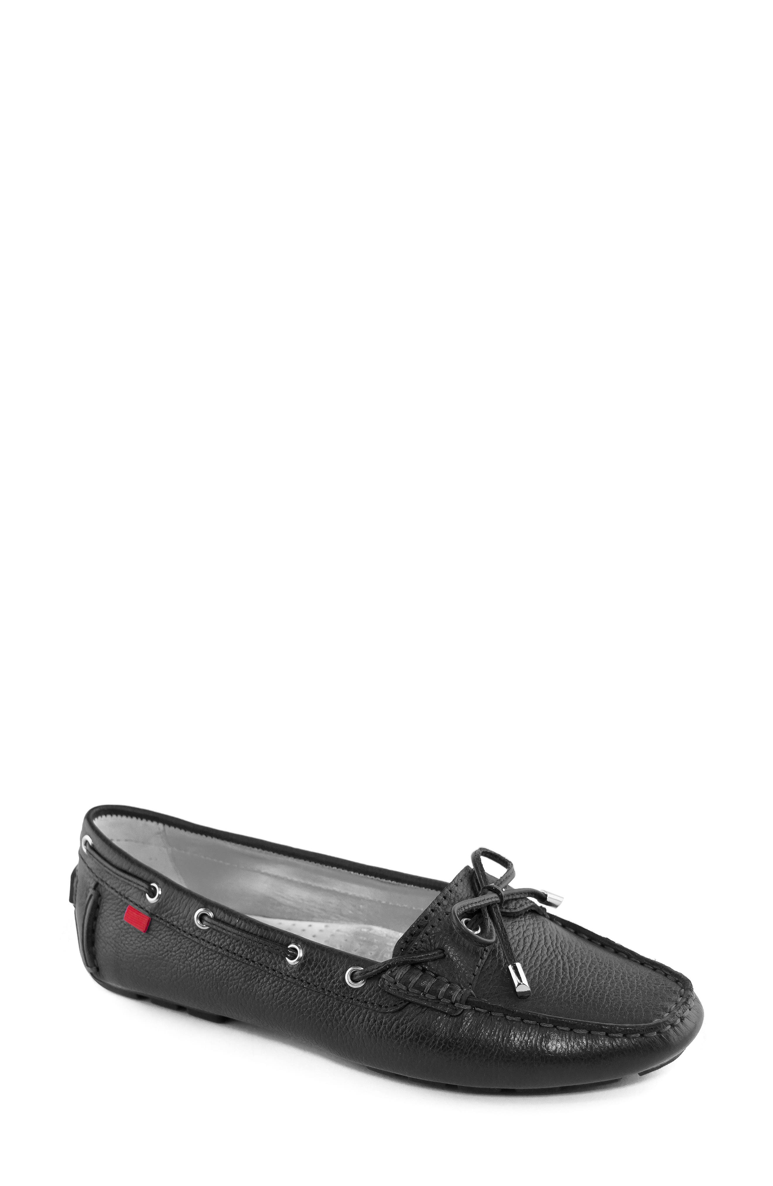 MARC JOSEPH NEW YORK, Rockaway Loafer, Main thumbnail 1, color, BLACK LEATHER