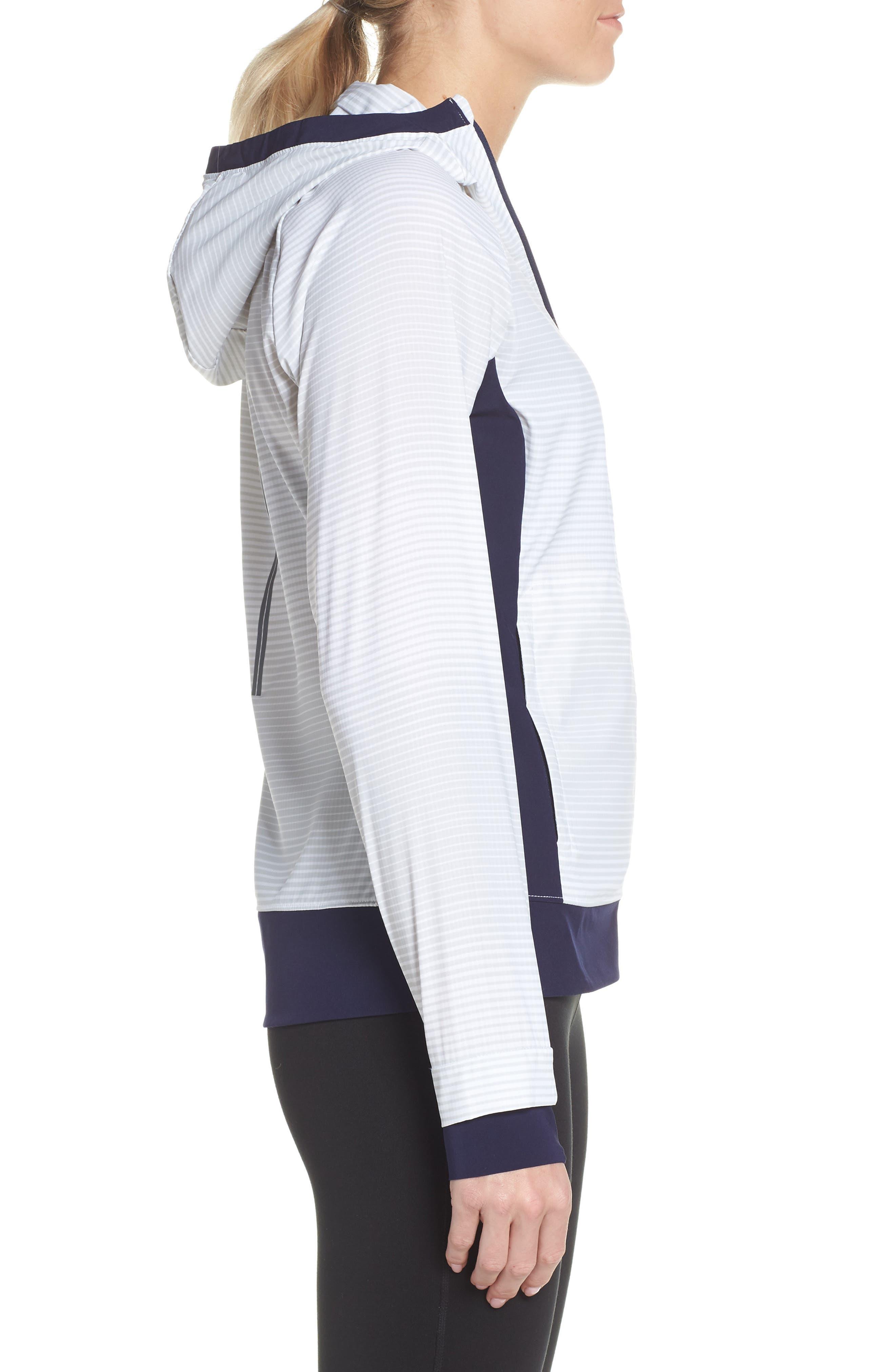 BROOKS, Canopy SE Reflective Running Jacket, Alternate thumbnail 4, color, 406